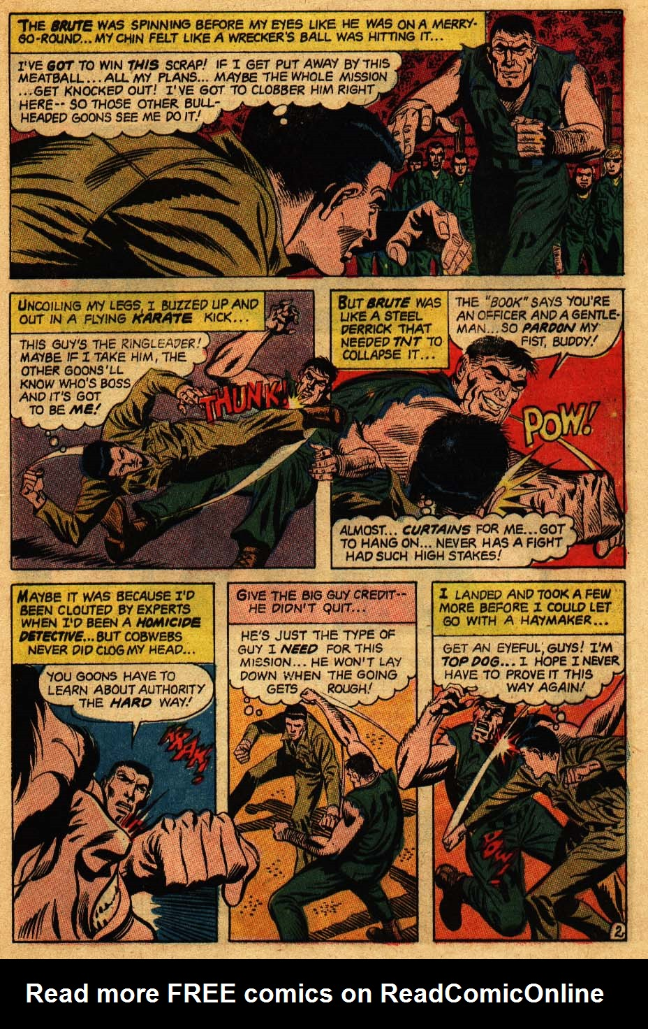 Our Fighting Forces (1954) issue 106 - Page 21