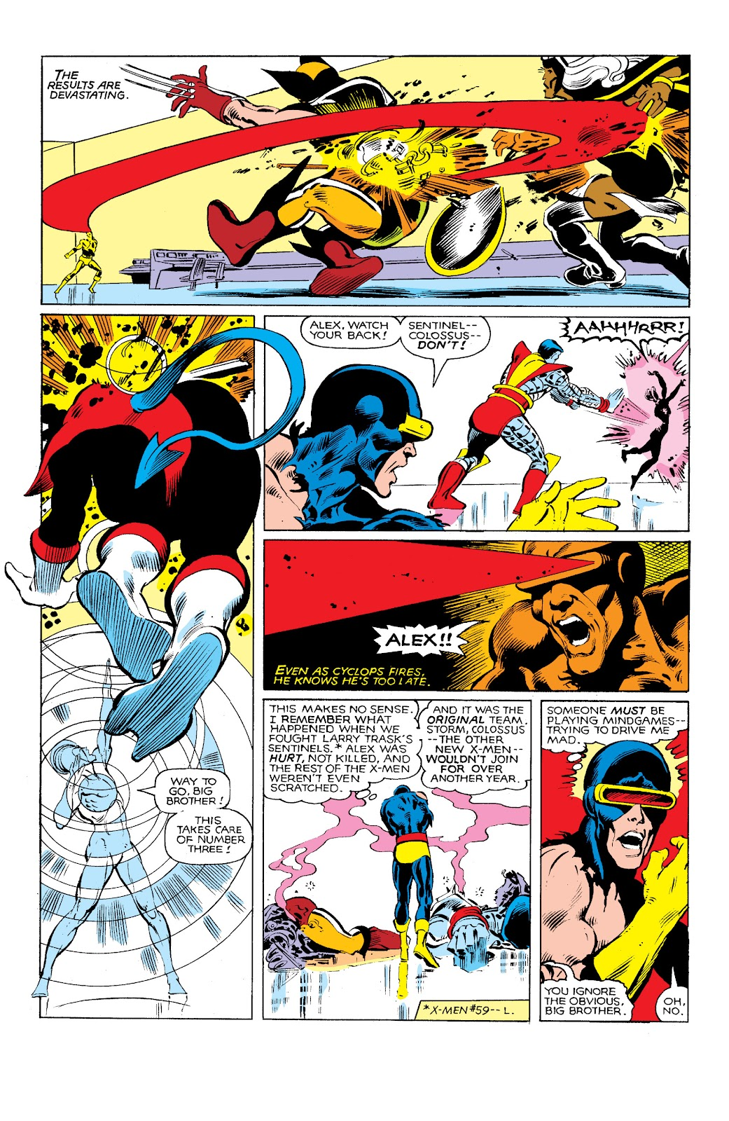 Uncanny X-Men (1963) issue 144 - Page 15