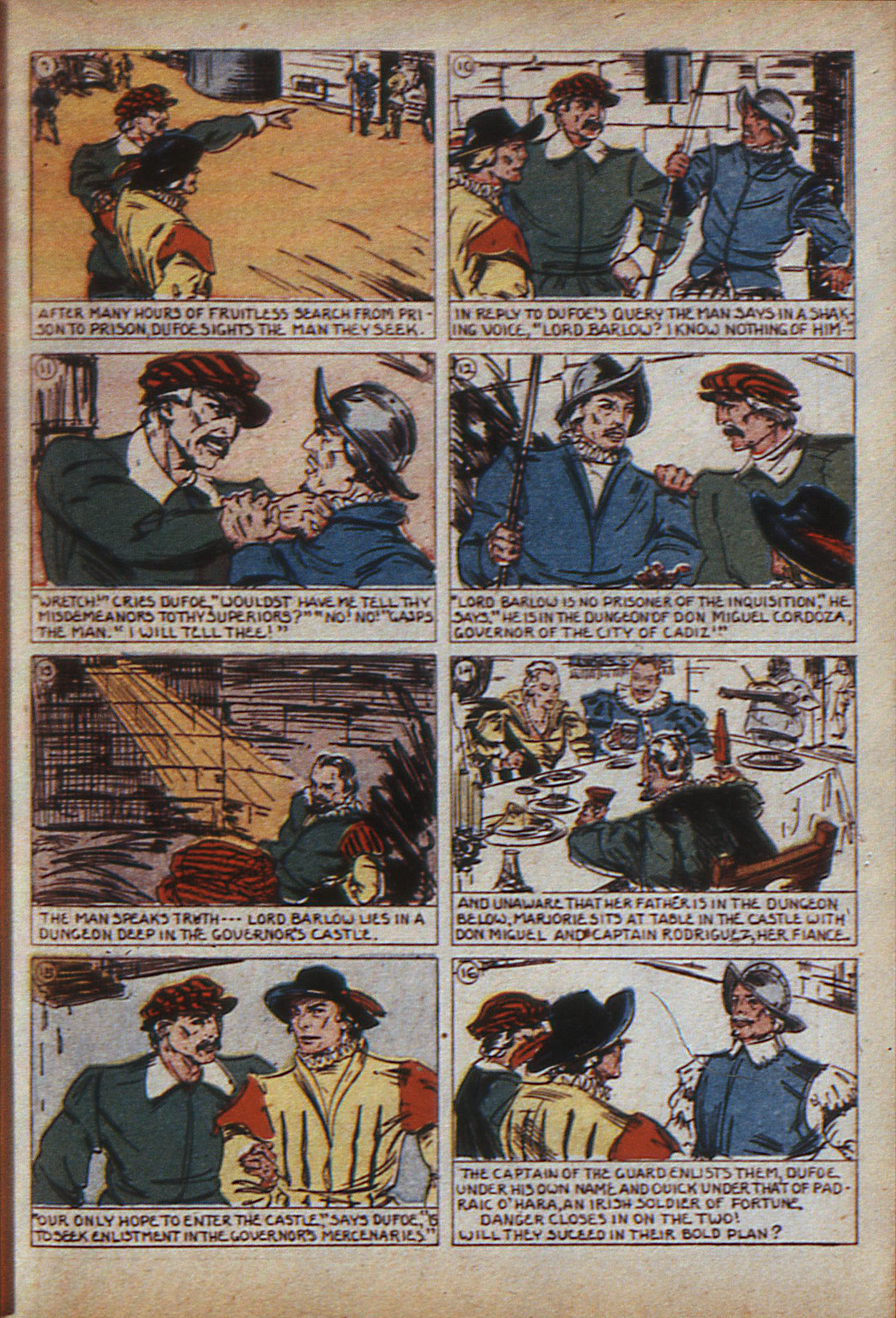 Read online Adventure Comics (1938) comic -  Issue #9 - 12