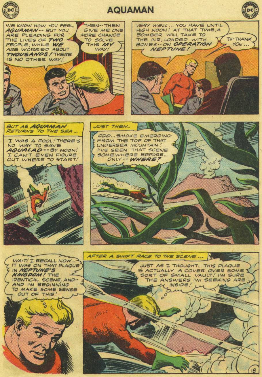 Read online Aquaman (1962) comic -  Issue #9 - 25