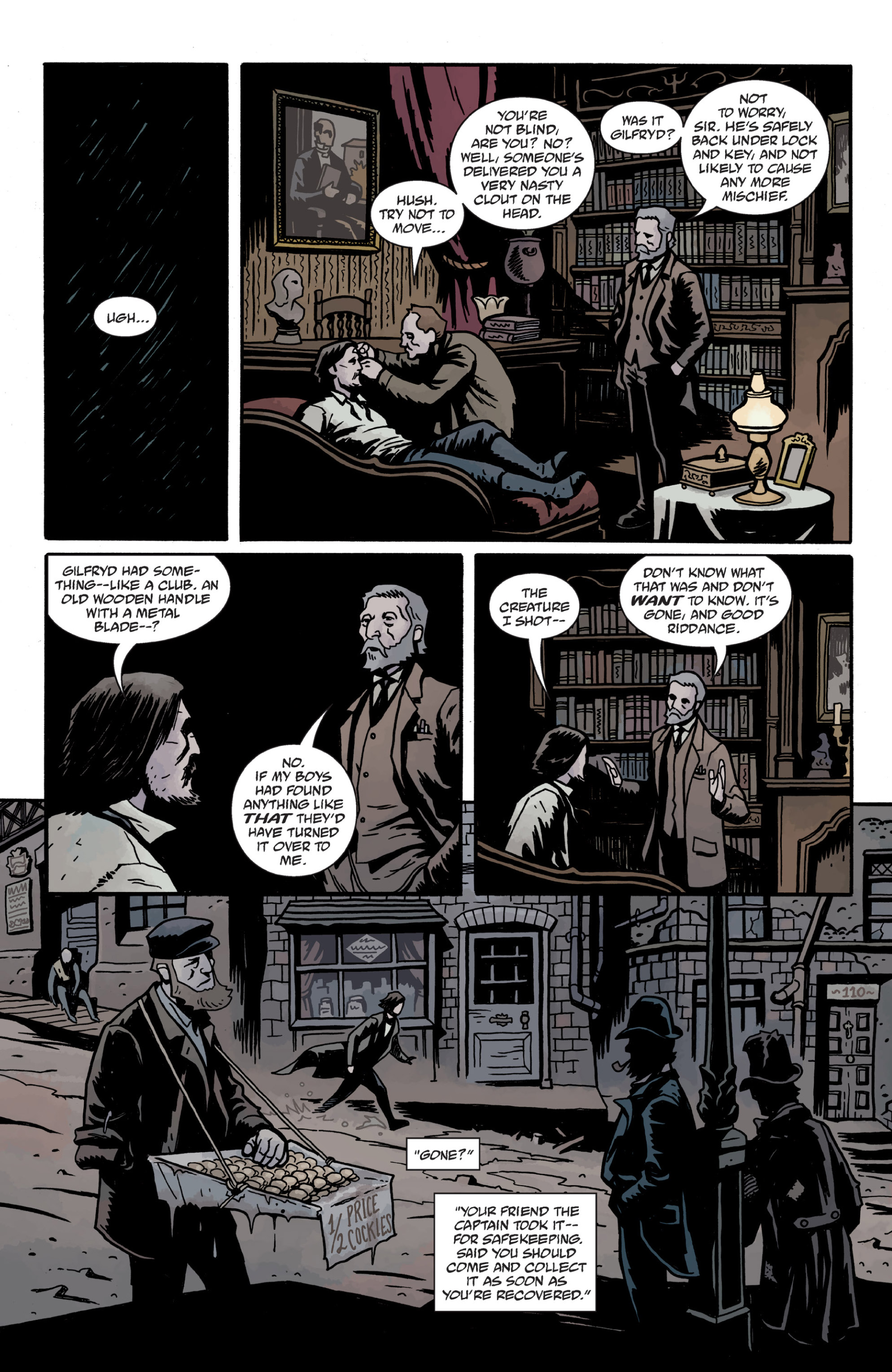 Read online Sir Edward Grey, Witchfinder: In the Service of Angels comic -  Issue # TPB - 118