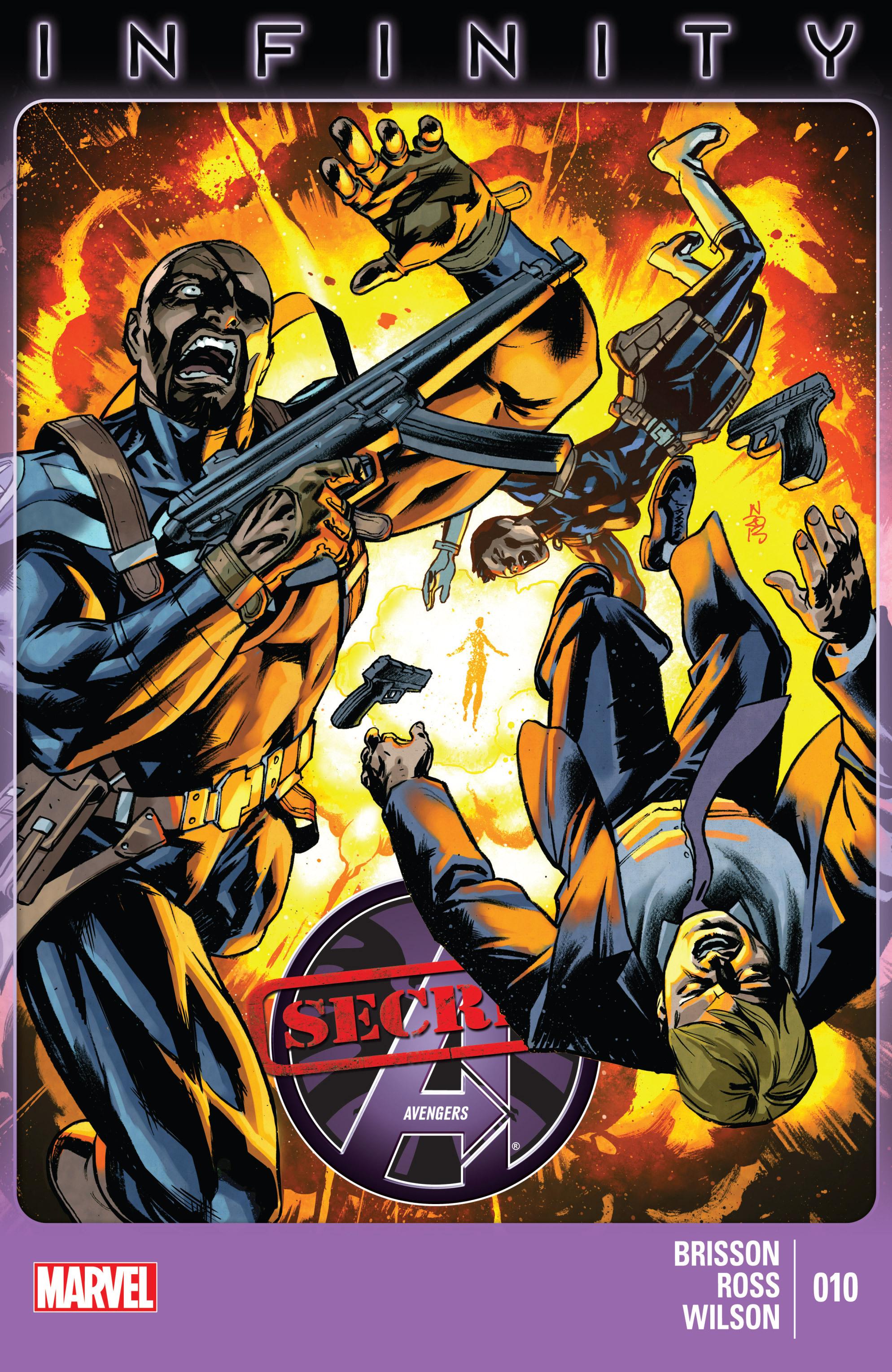 Read online Secret Avengers (2013) comic -  Issue #10 - 1