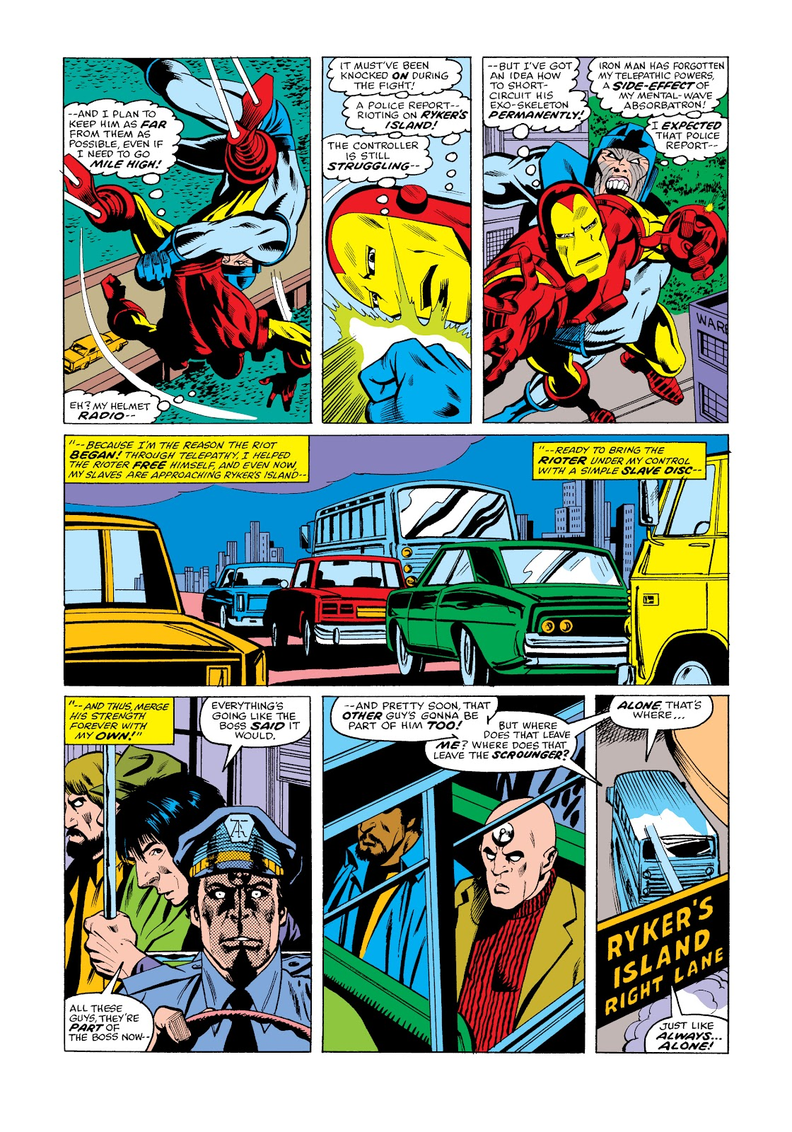 Read online Marvel Masterworks: The Invincible Iron Man comic -  Issue # TPB 11 (Part 3) - 26