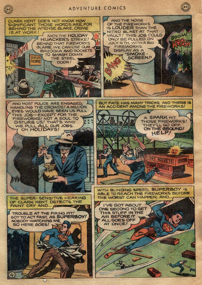 Read online Adventure Comics (1938) comic -  Issue #145 - 5