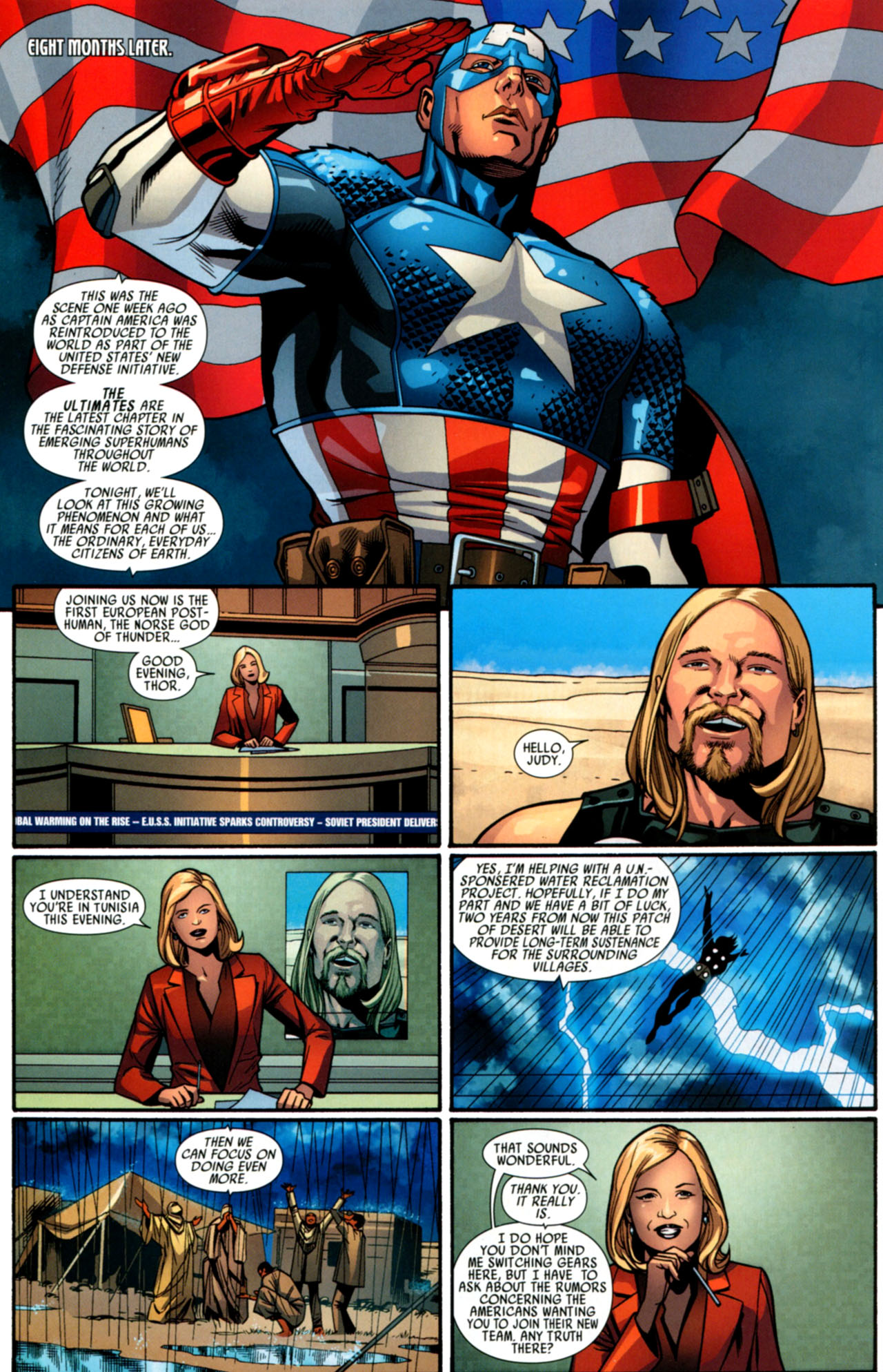 Read online Ultimate Thor comic -  Issue #4 - 11