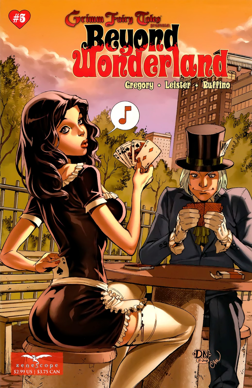 Grimm Fairy Tales: Beyond Wonderland issue 5 - Page 1