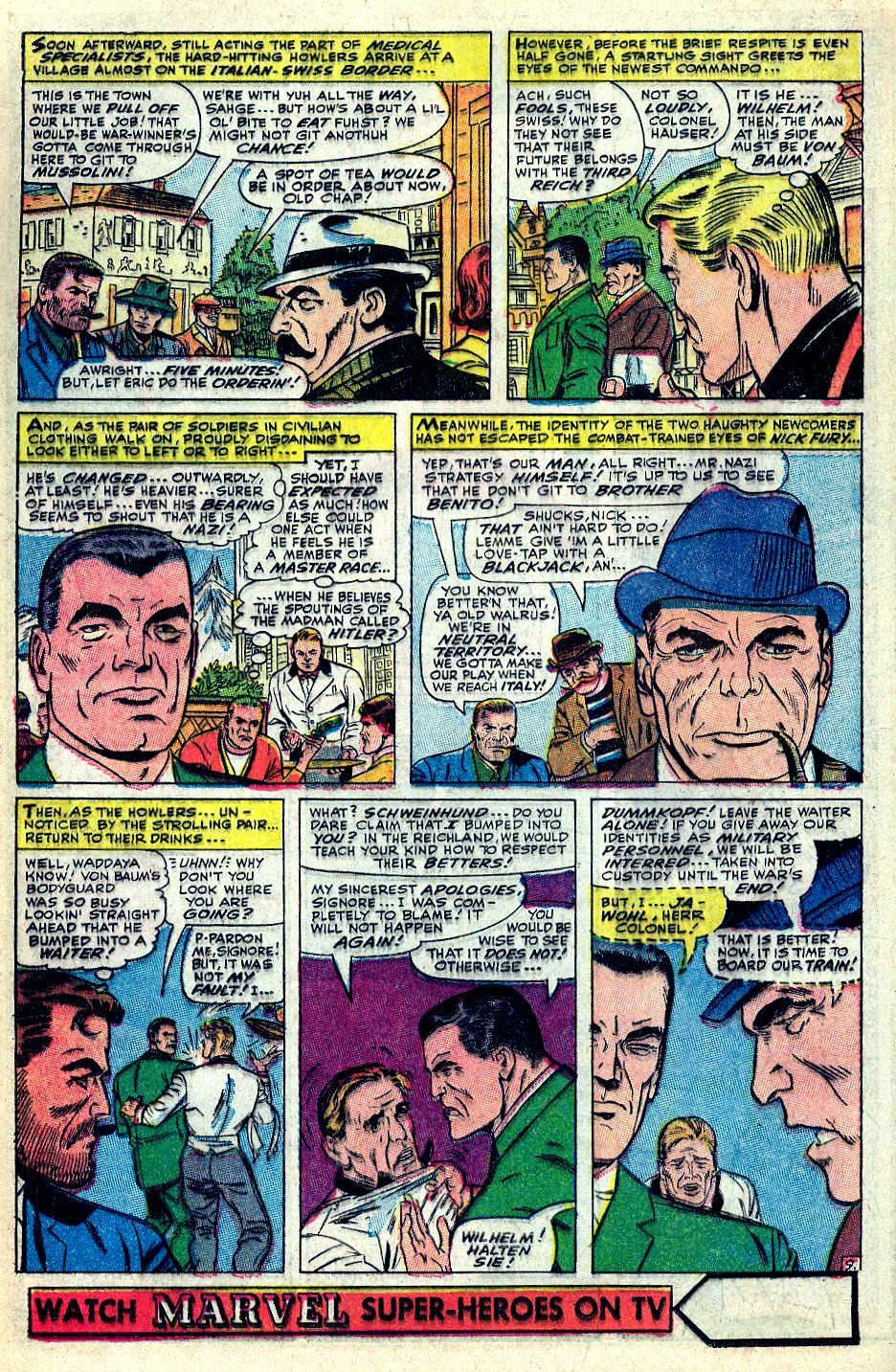 Read online Sgt. Fury comic -  Issue #36 - 12