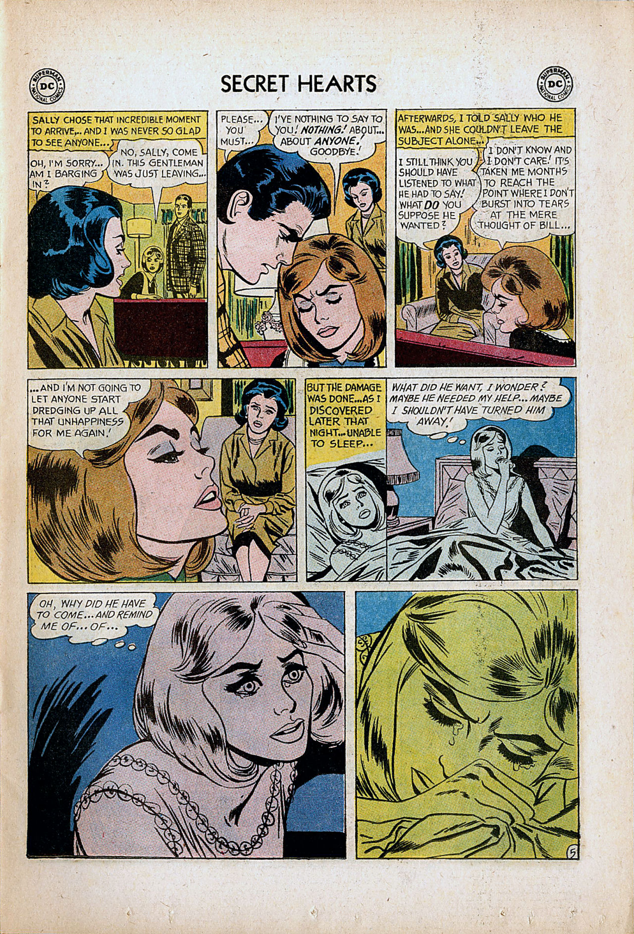 Read online Secret Hearts comic -  Issue #86 - 7
