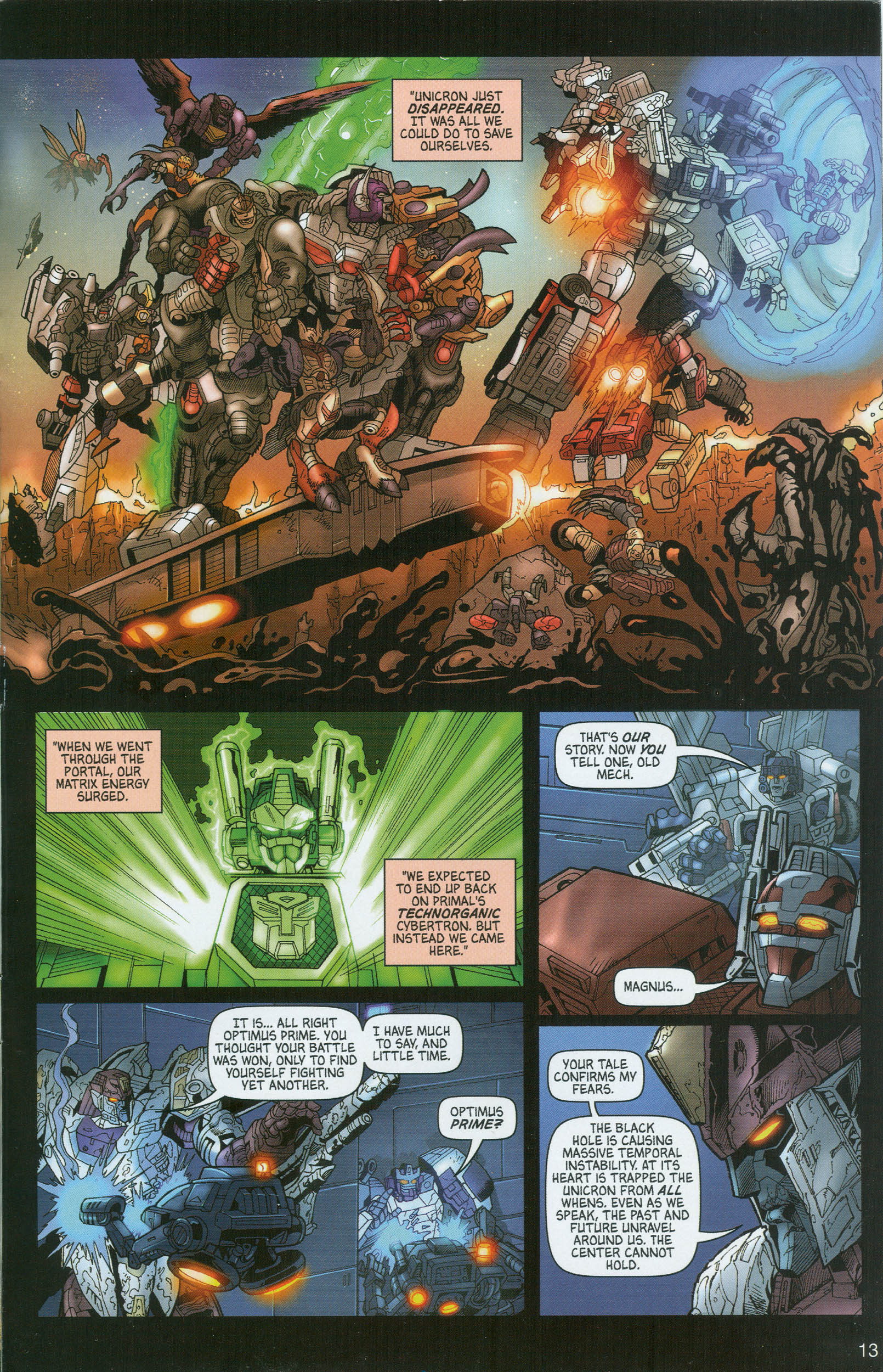 Read online Transformers: Collectors' Club comic -  Issue #8 - 13