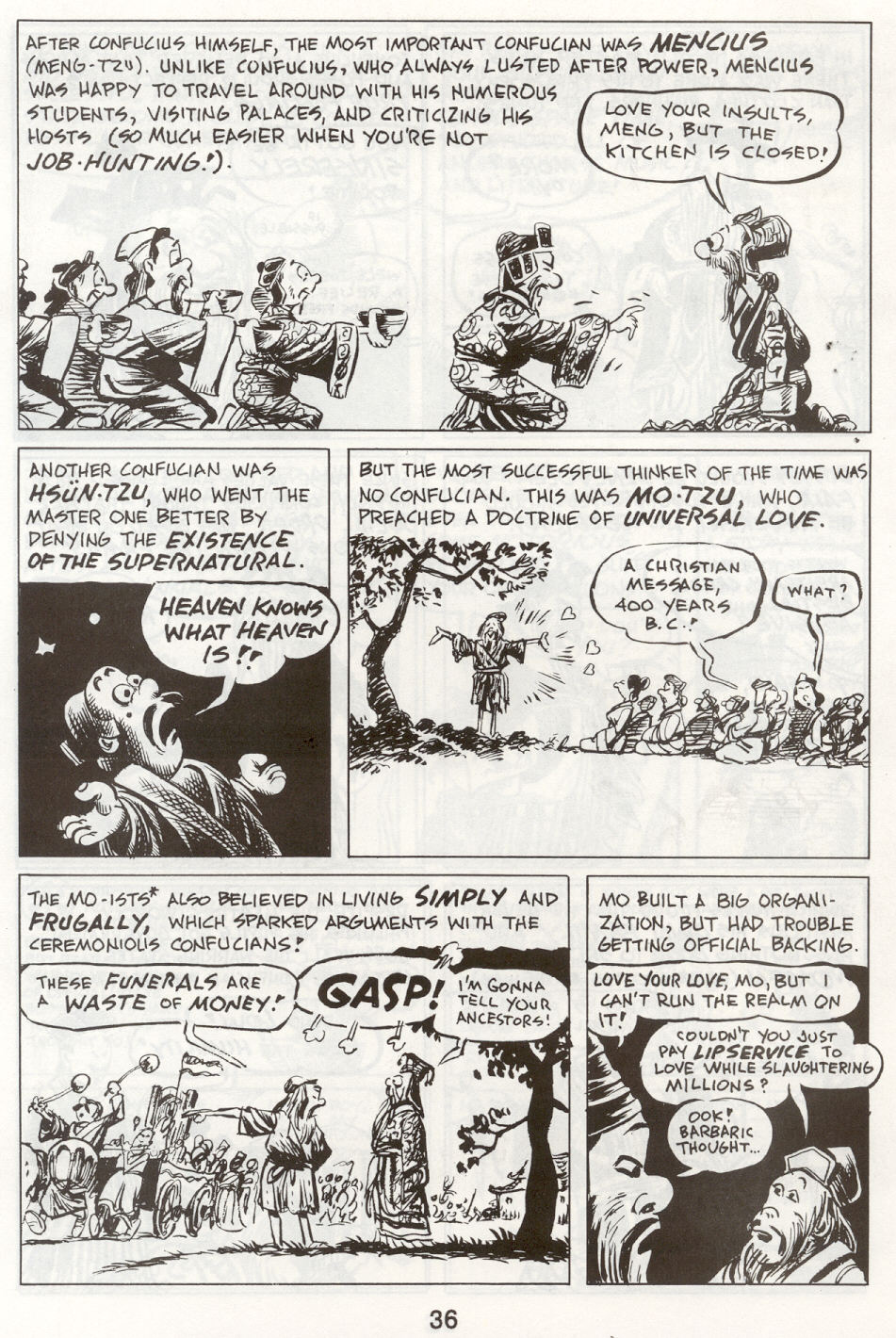 Read online The Cartoon History of the Universe comic -  Issue #9 - 39