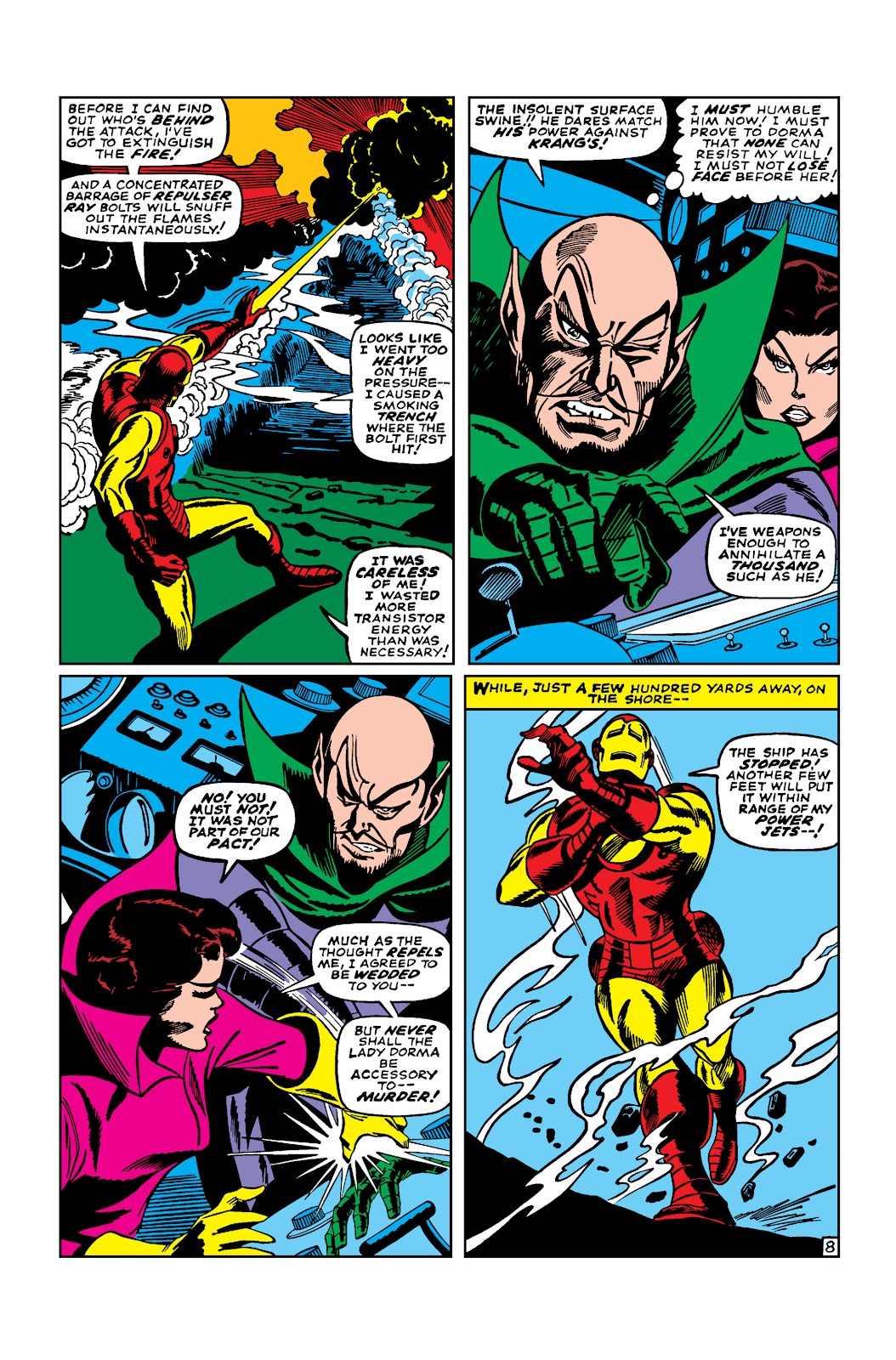 Read online Marvel Masterworks: The Invincible Iron Man comic -  Issue # TPB 3 (Part 4) - 10
