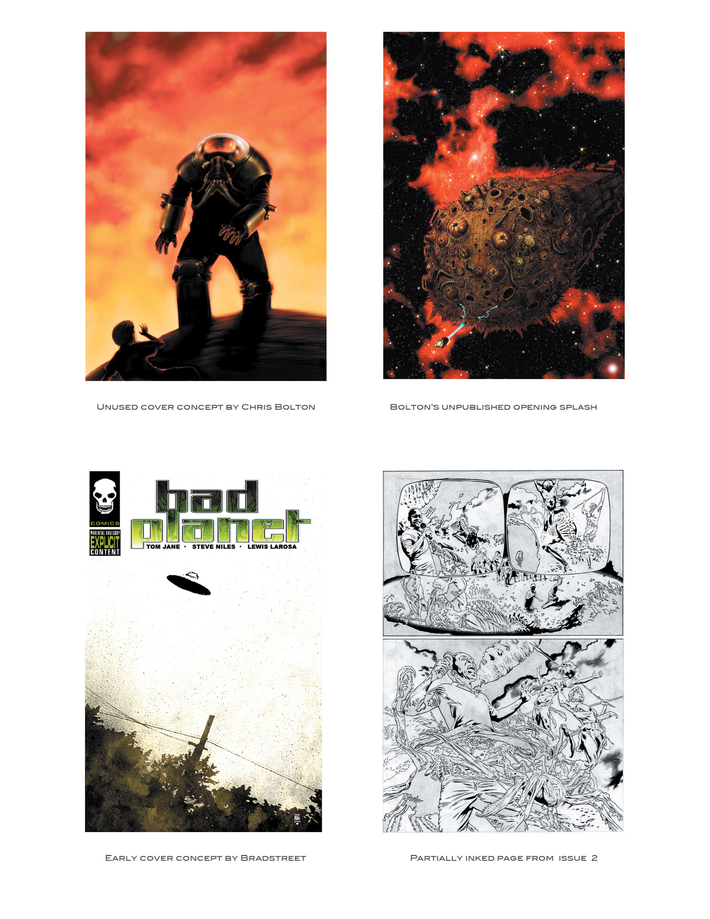 Read online Bad Planet comic -  Issue # TPB - 163