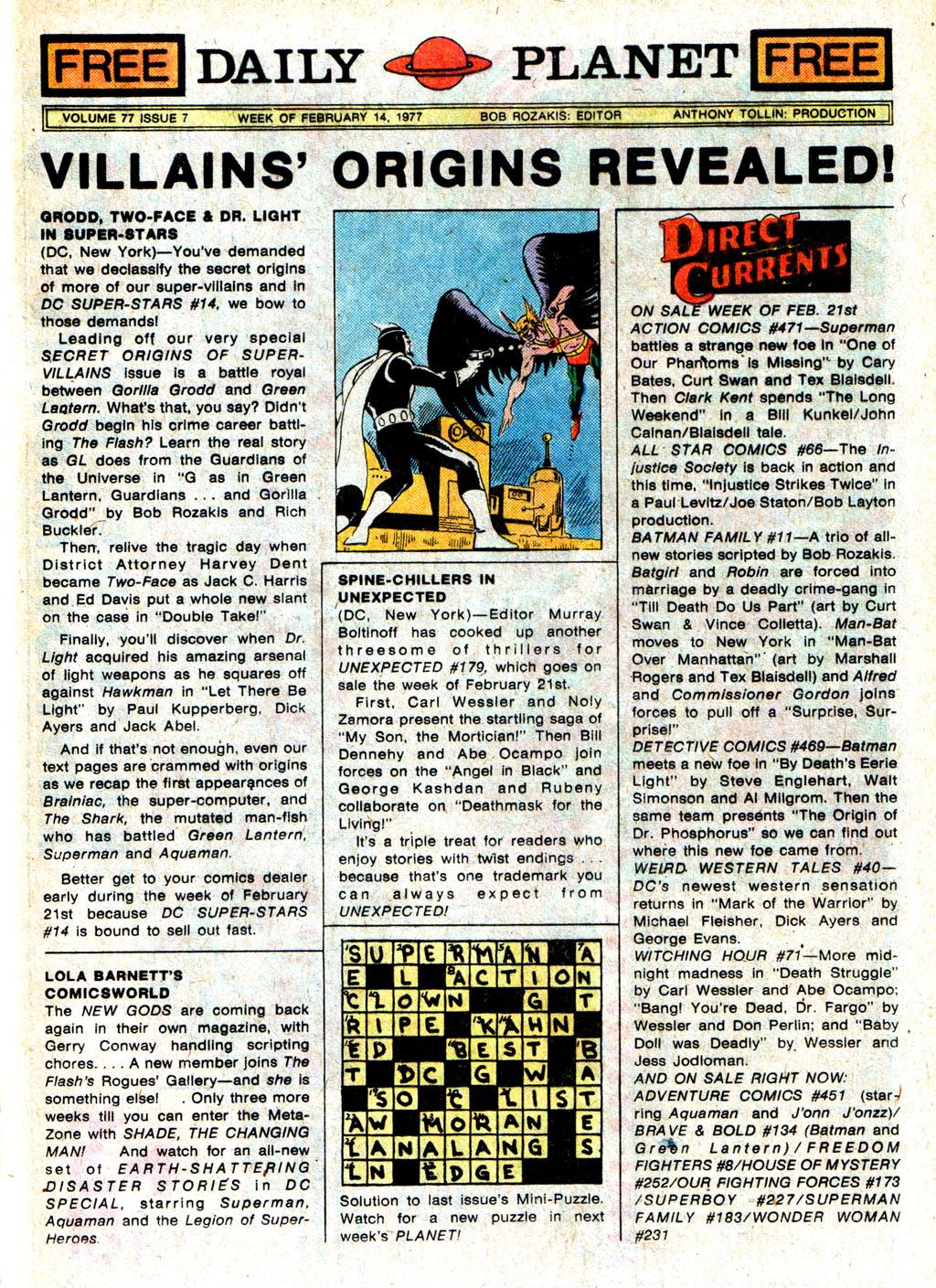 Read online Wonder Woman (1942) comic -  Issue #231 - 31