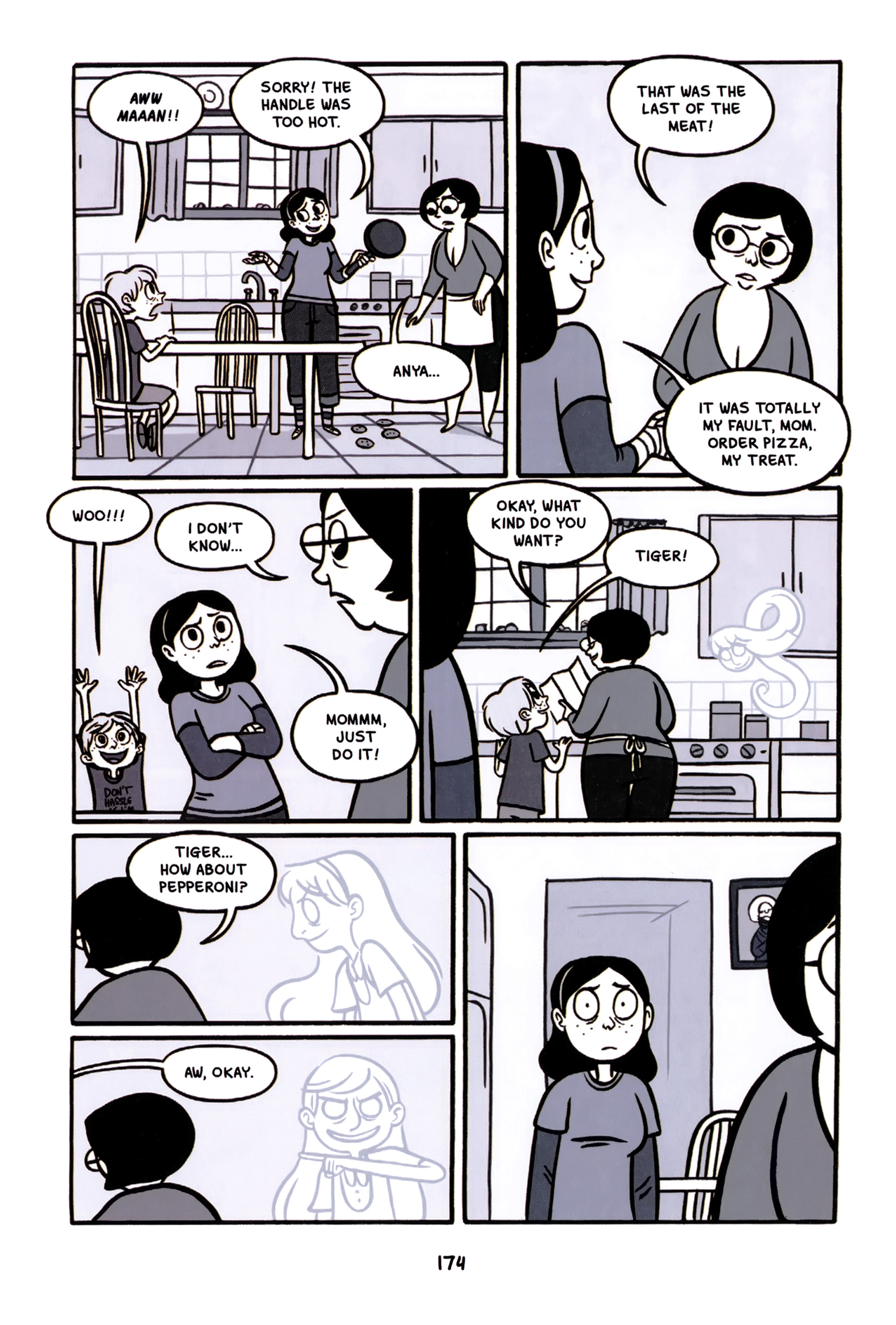 Read online Anya's Ghost comic -  Issue #1 - 175