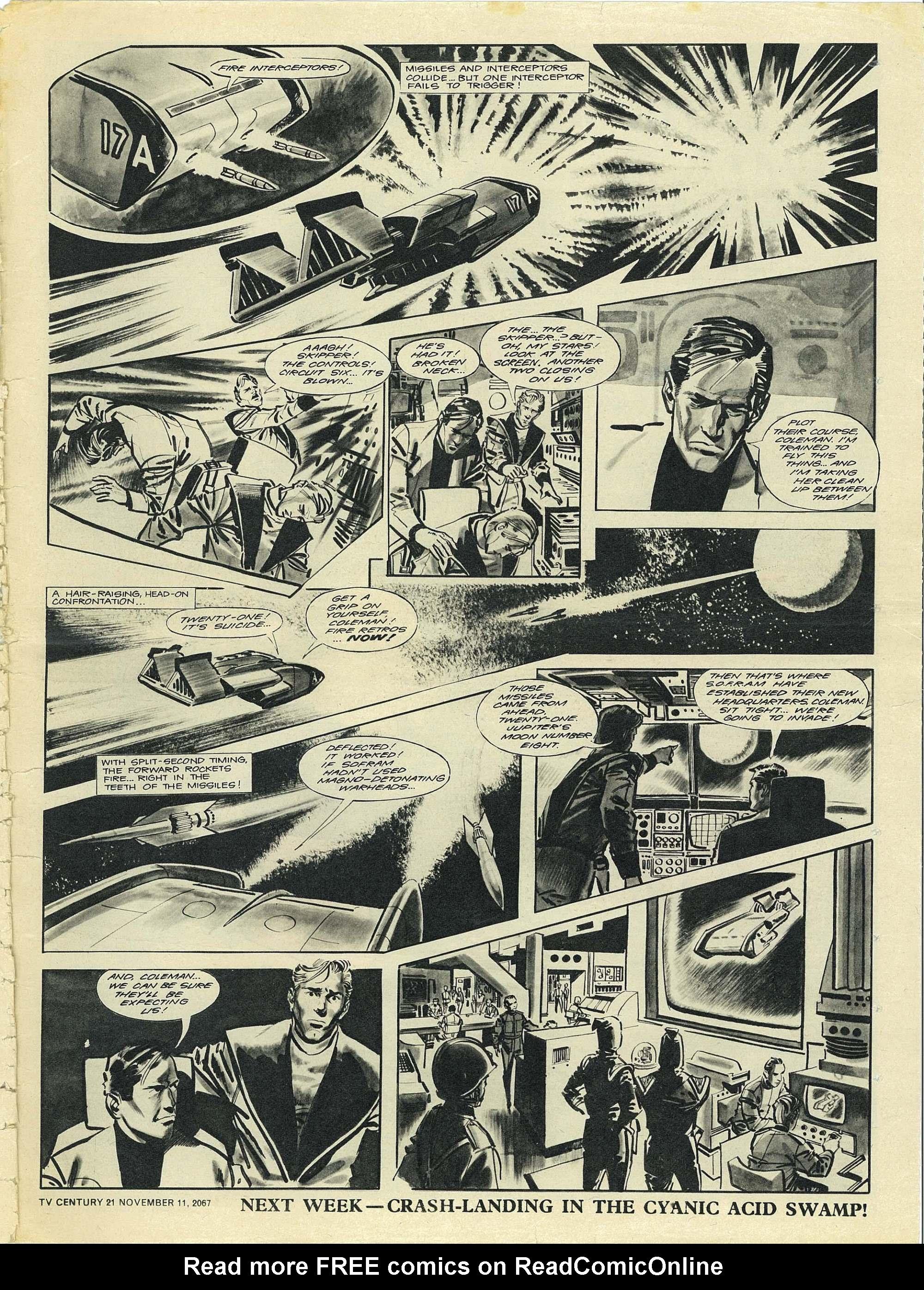Read online TV Century 21 (TV 21) comic -  Issue #147 - 22