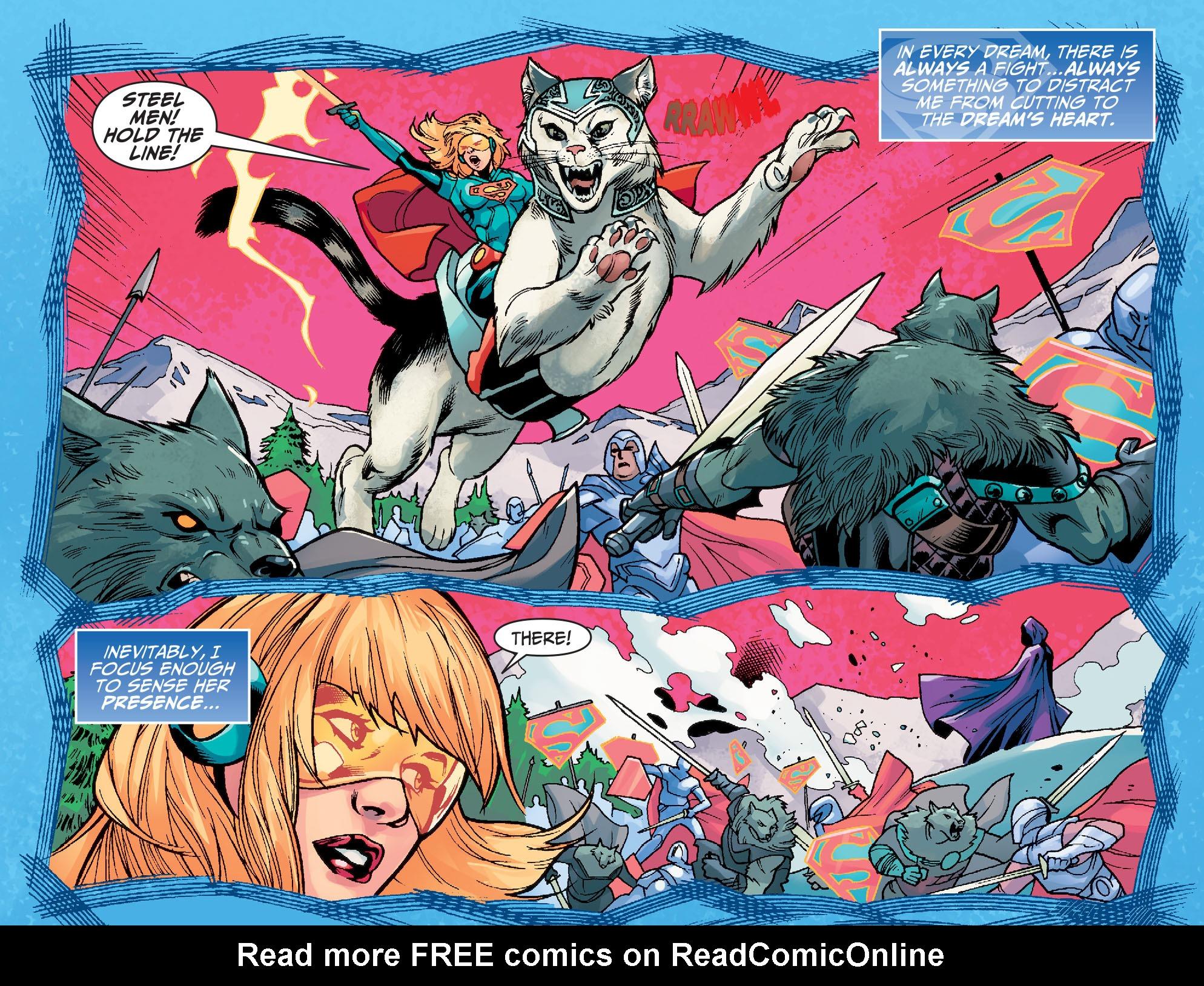 Read online Adventures of Supergirl comic -  Issue #7 - 7