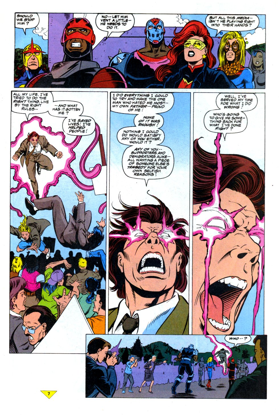 The New Warriors Issue #43 #47 - English 7