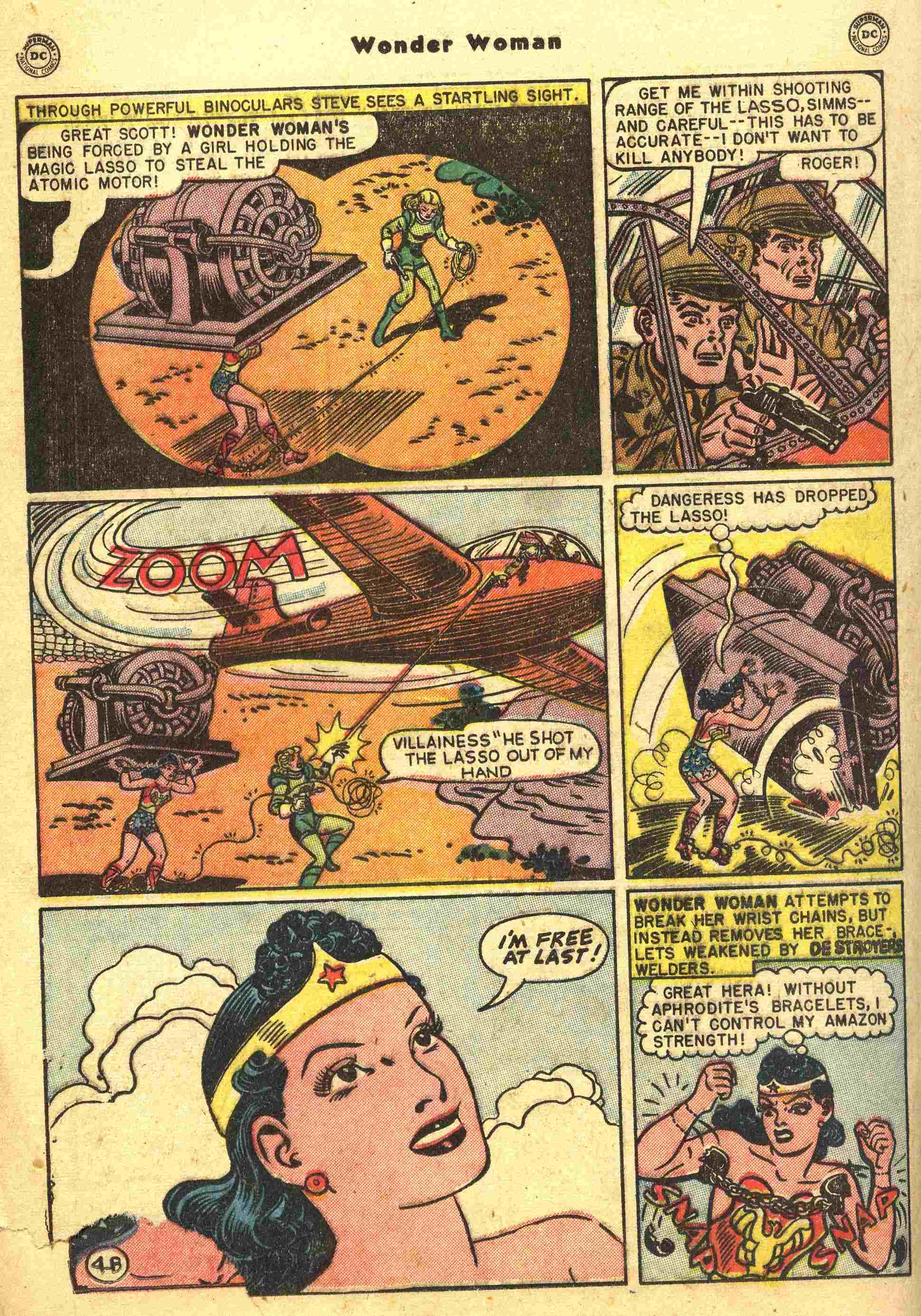 Read online Wonder Woman (1942) comic -  Issue #44 - 19