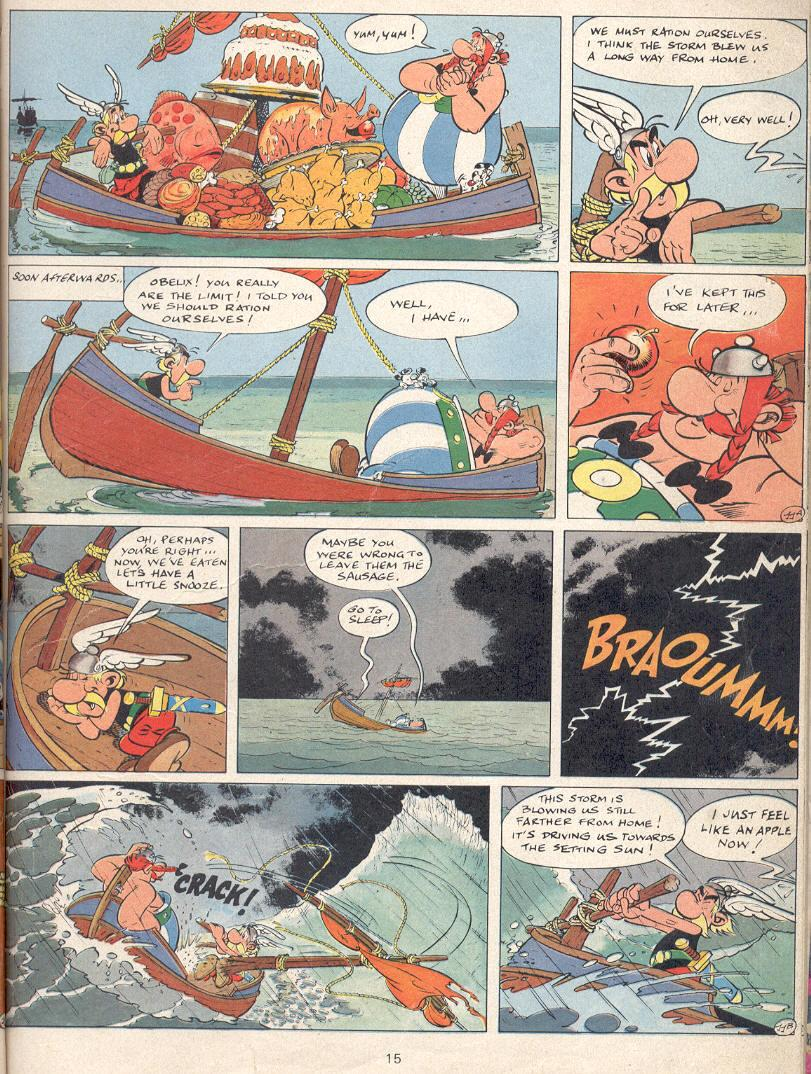 Read online Asterix comic -  Issue #22 - 12