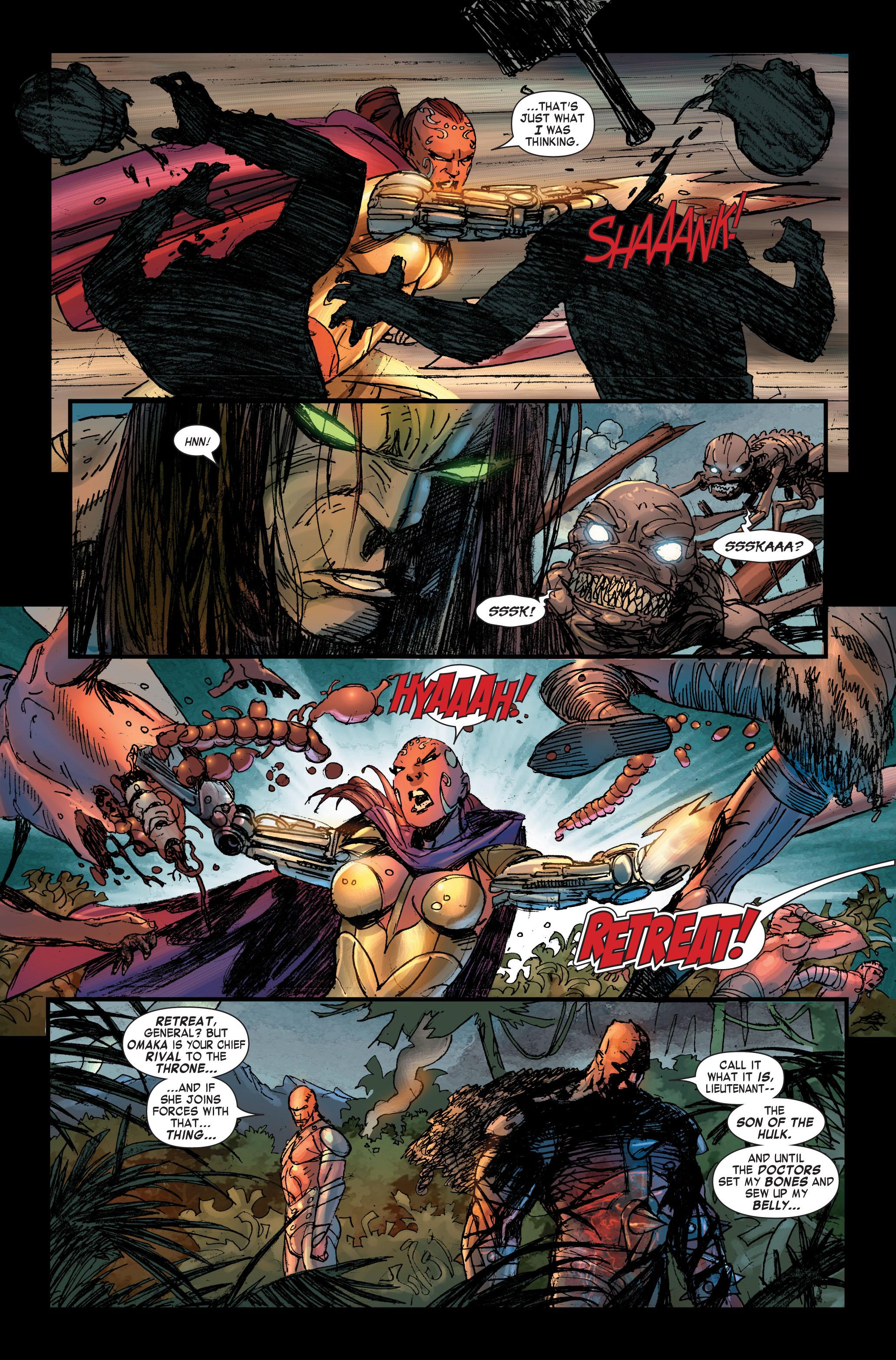 Read online Skaar: Son of Hulk comic -  Issue #2 - 15