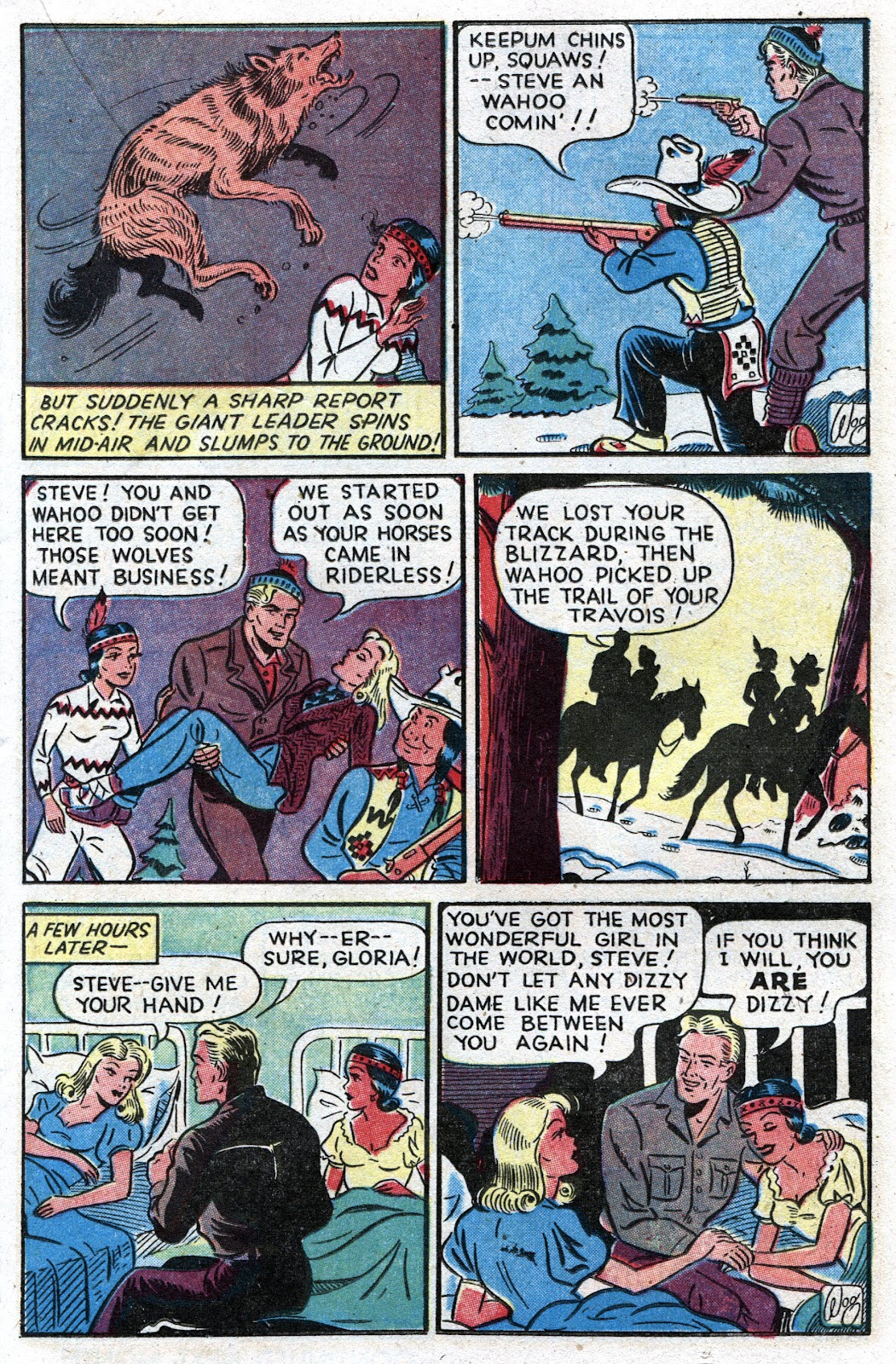 Read online Famous Funnies comic -  Issue #157 - 21