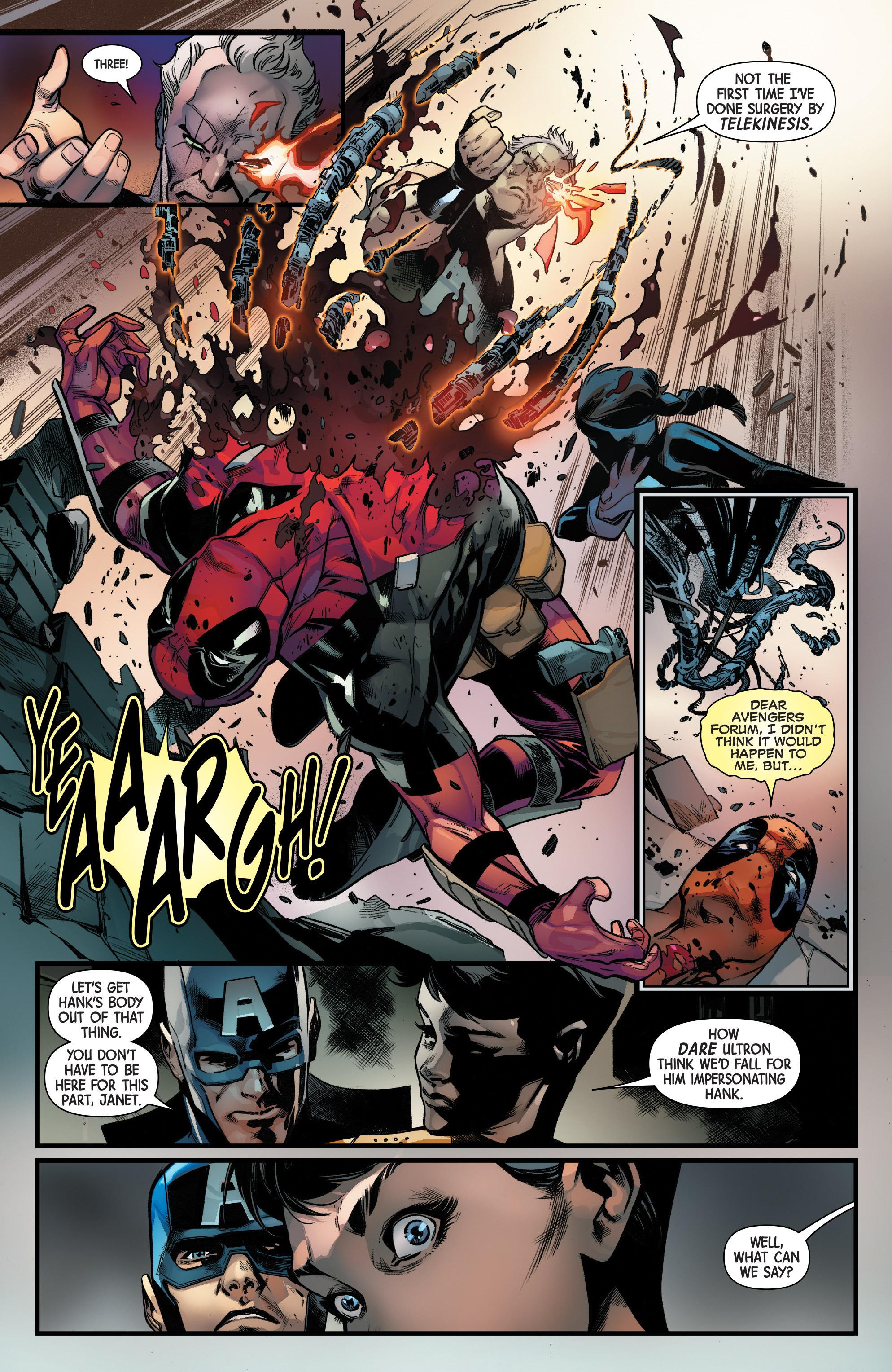 Read online Uncanny Avengers [II] comic -  Issue #11 - 17
