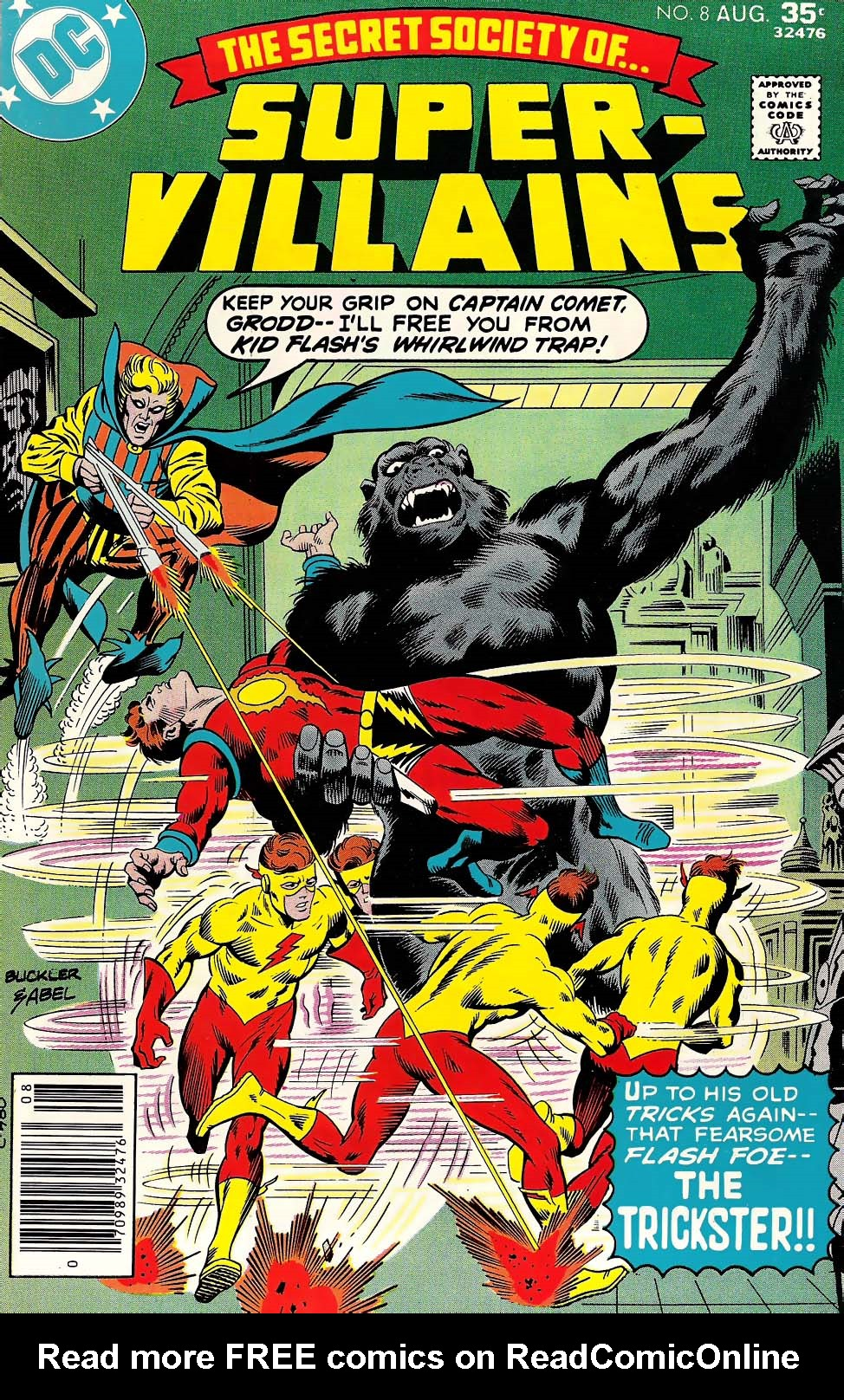 Read online Secret Society of Super-Villains comic -  Issue #8 - 1