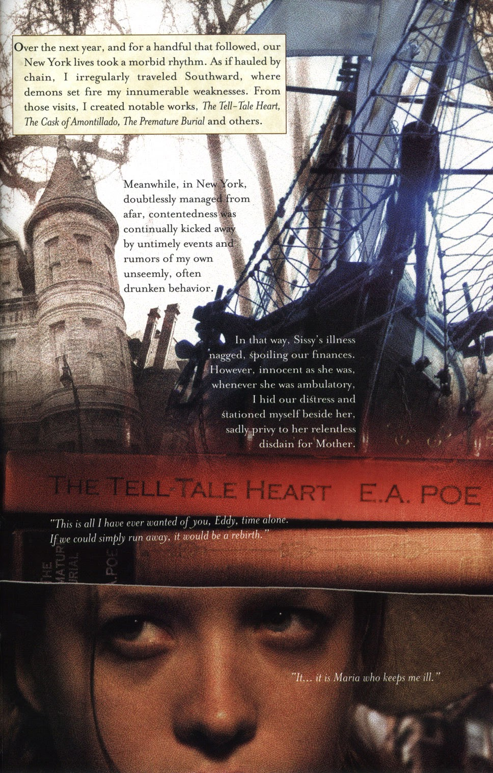 Read online In the Shadow of Edgar Allan Poe comic -  Issue # TPB - 69