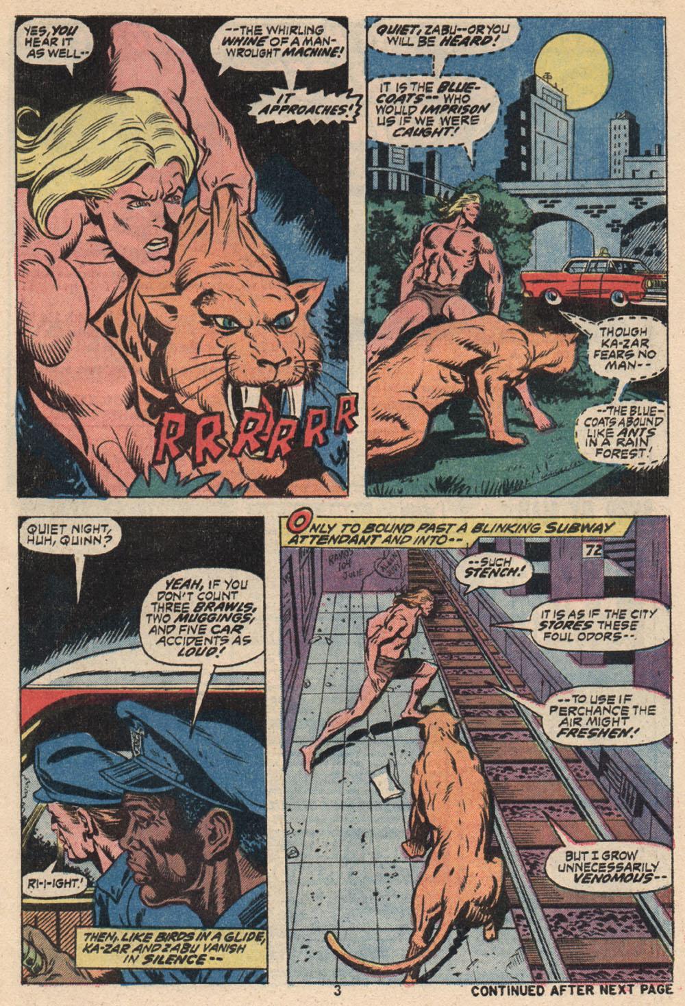 Read online Astonishing Tales (1970) comic -  Issue #16 - 4