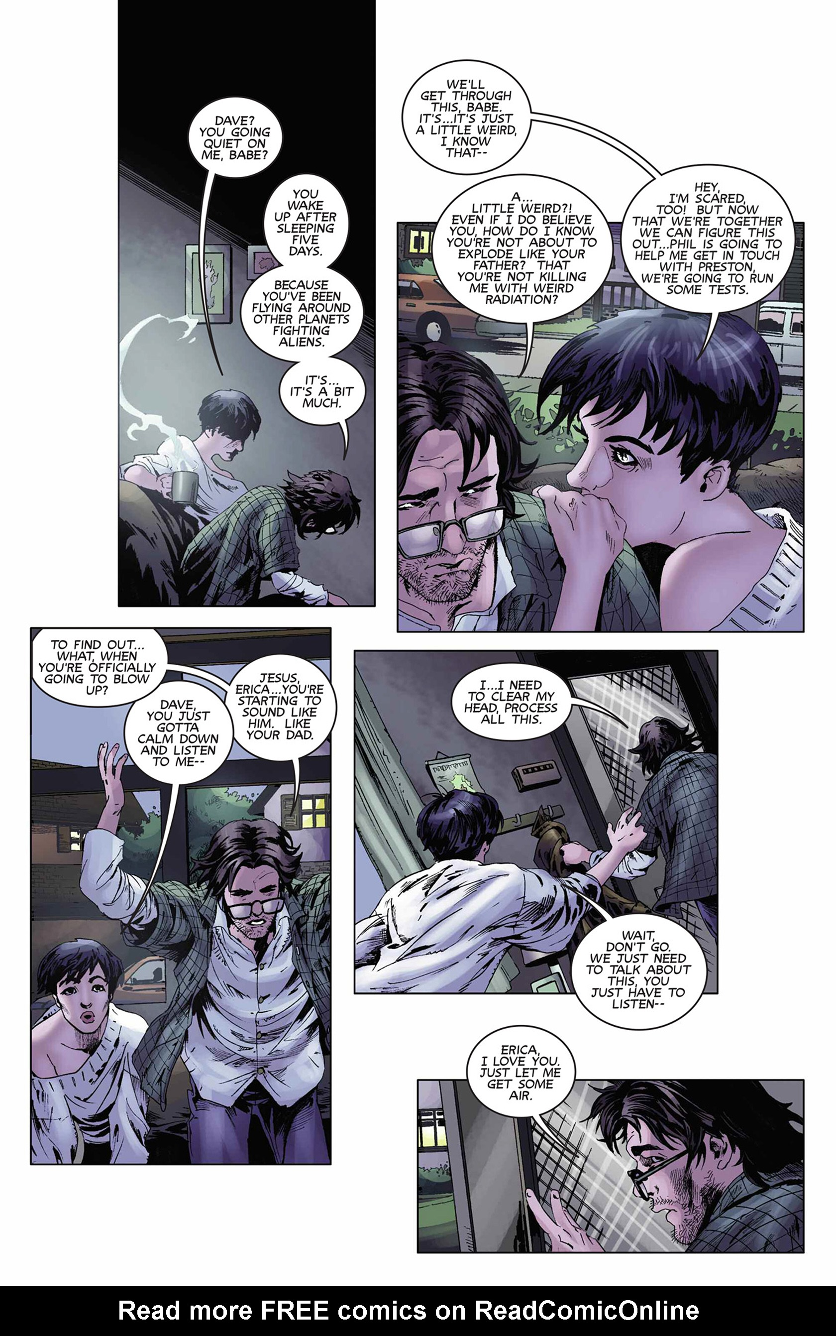 Read online Solar: Man of the Atom (2014) comic -  Issue #9 - 10