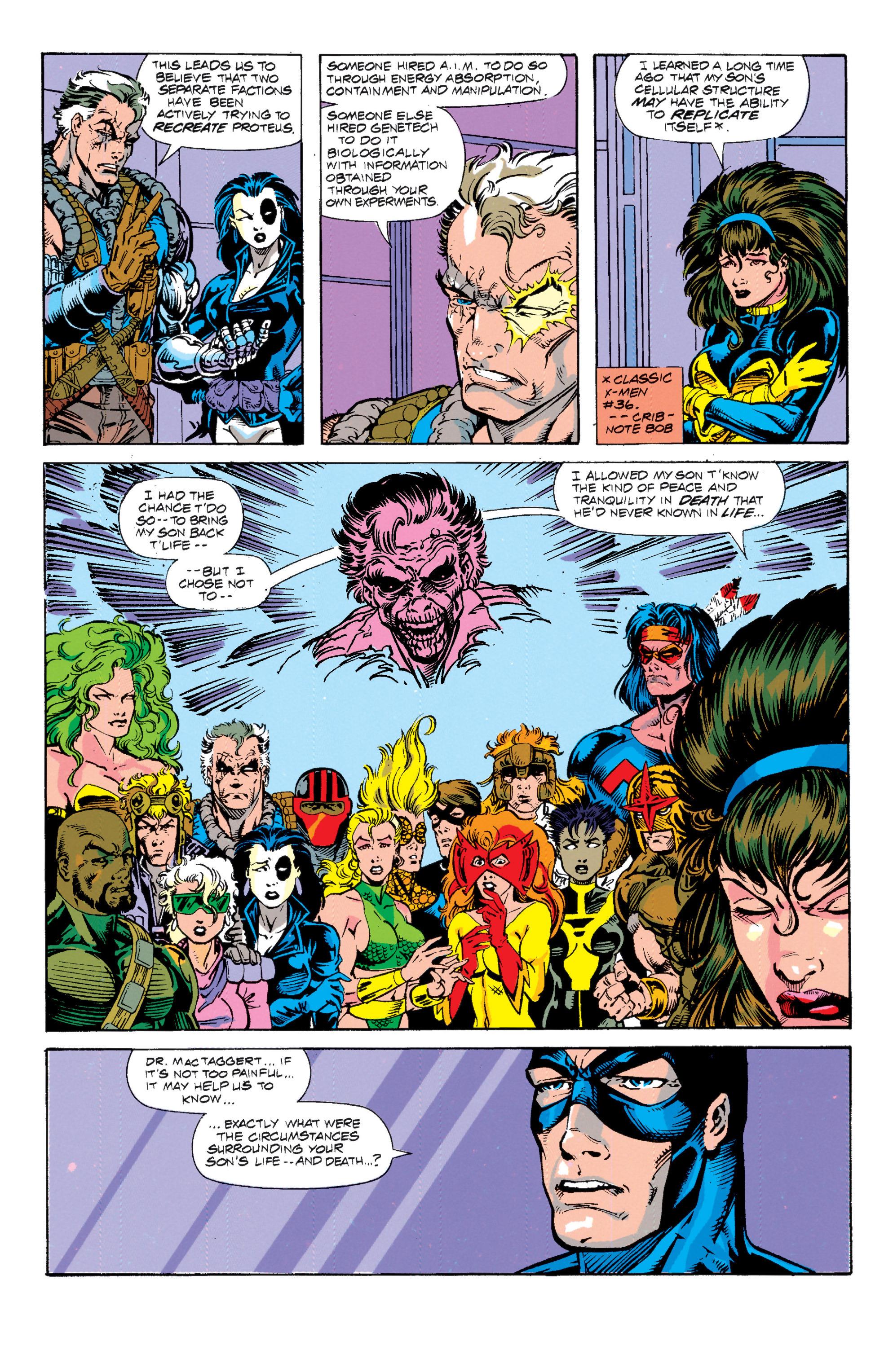 Read online Uncanny X-Men (1963) comic -  Issue # _Annual 15 - 15