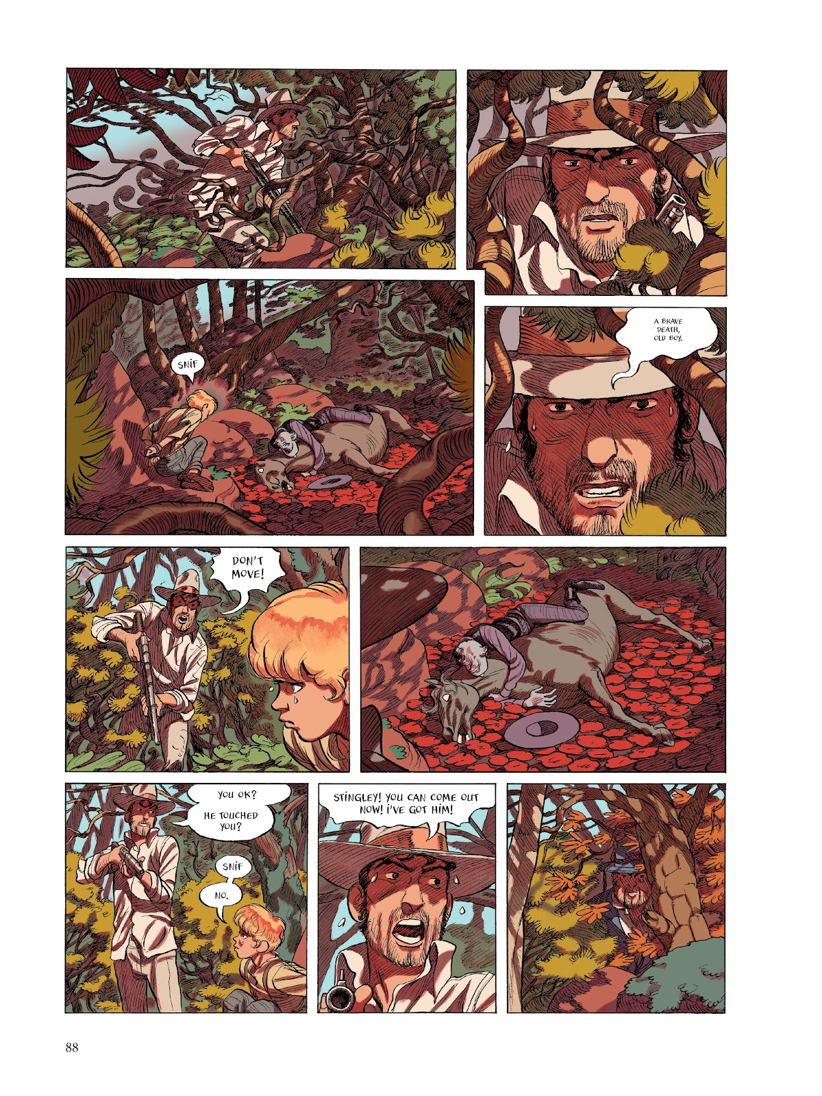 Read online The Smell of Starving Boys comic -  Issue # TPB - 89