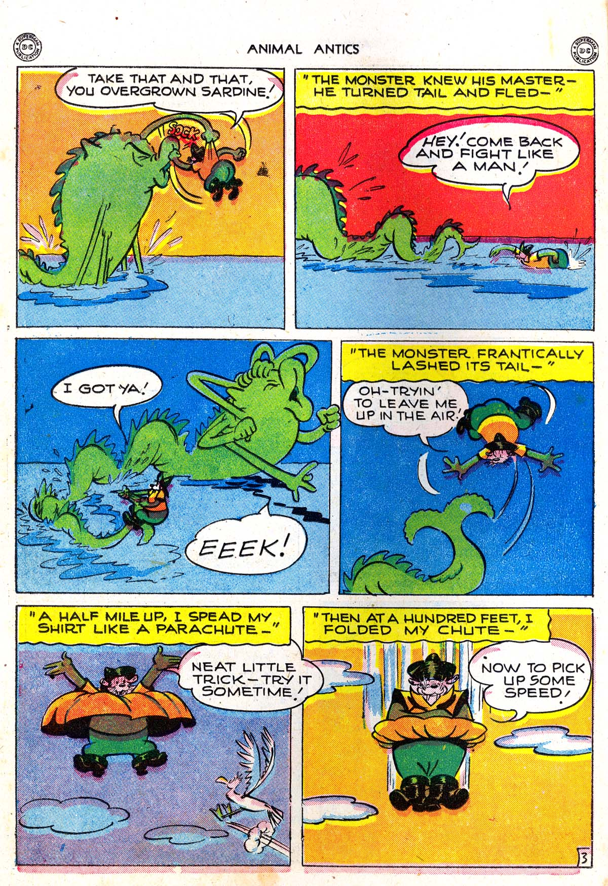 Read online Animal Antics comic -  Issue #5 - 24