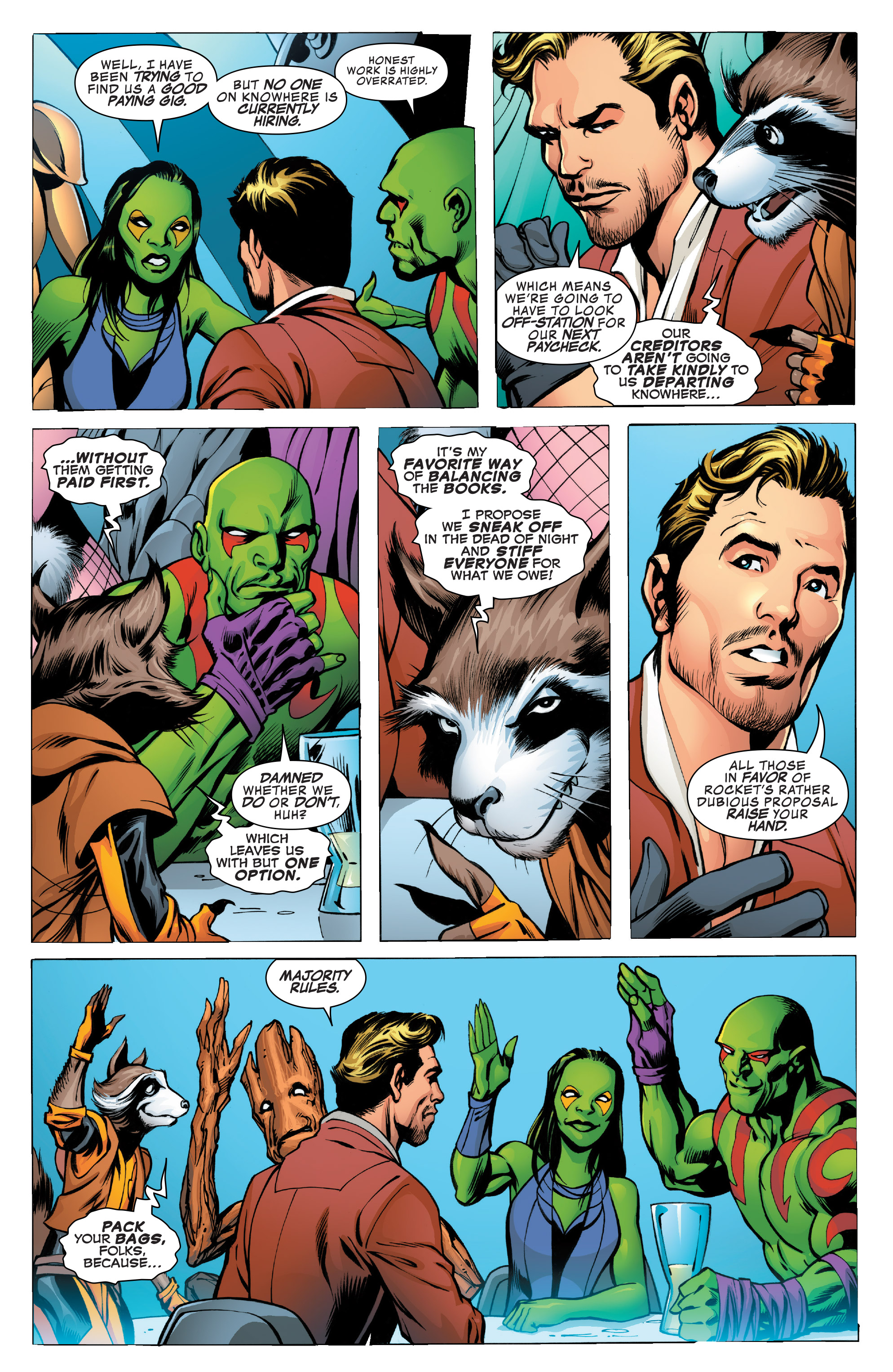 Read online Guardians of the Galaxy: Mother Entropy comic -  Issue #1 - 9