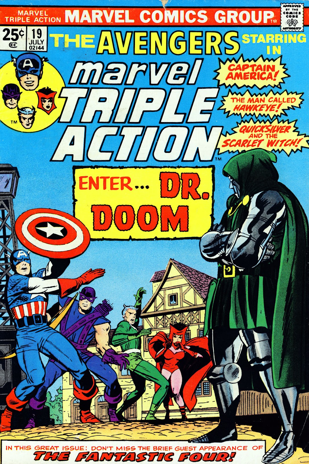Marvel Triple Action (1972) issue 19 - Page 1