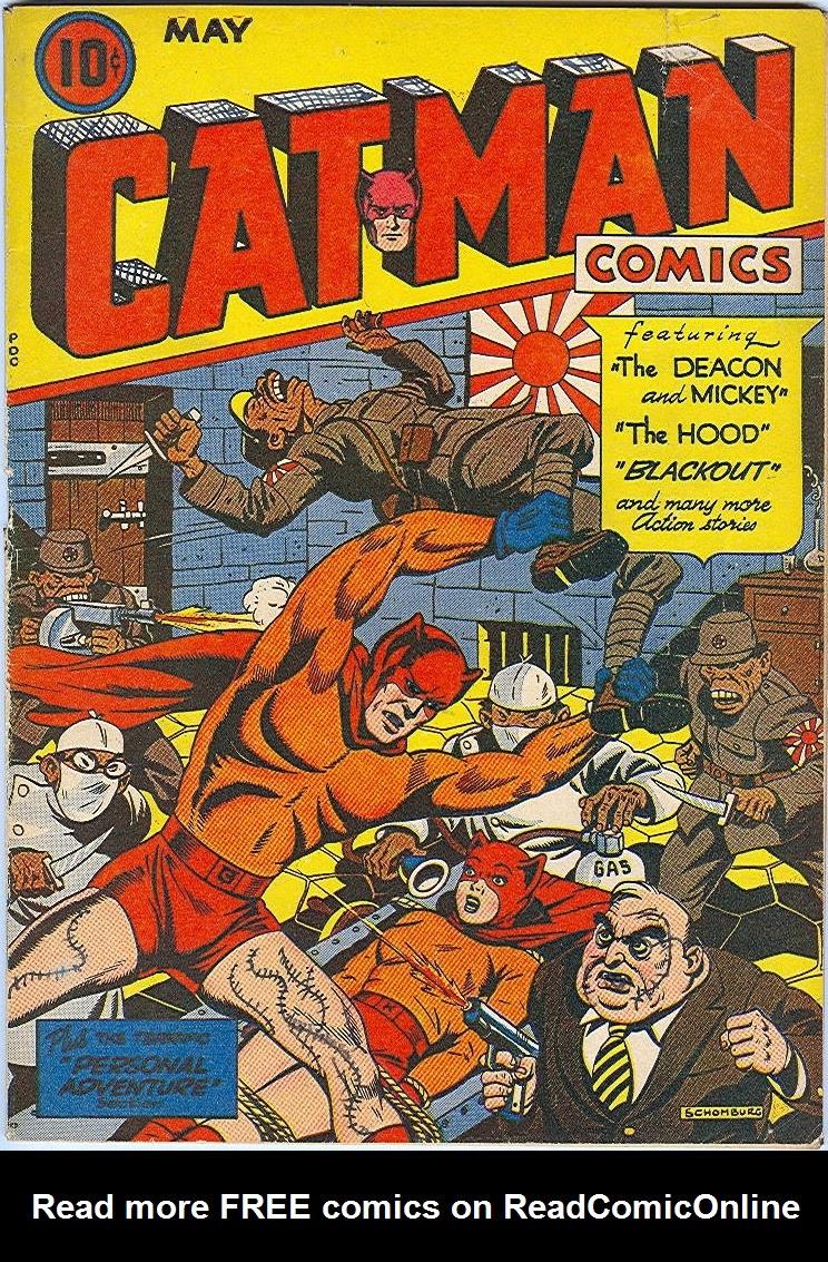 Cat-Man Comics 24 Page 1