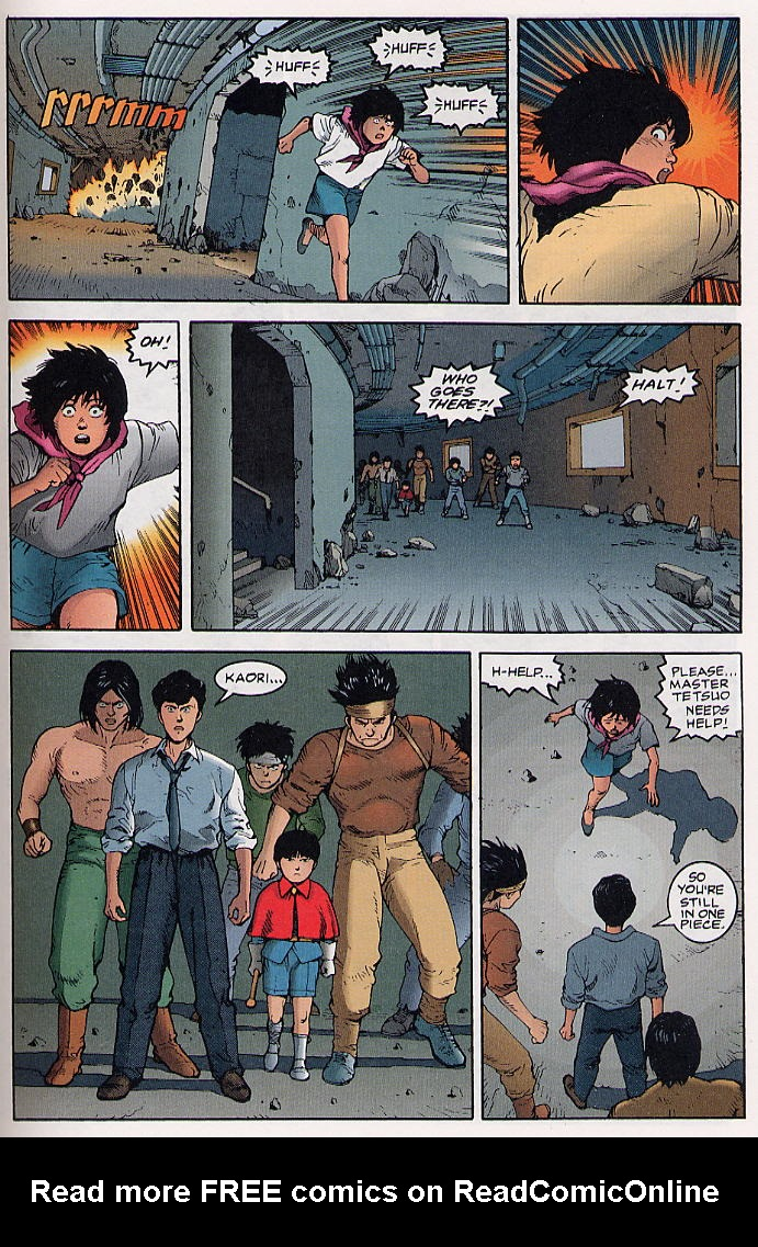 Read online Akira comic -  Issue #31 - 48