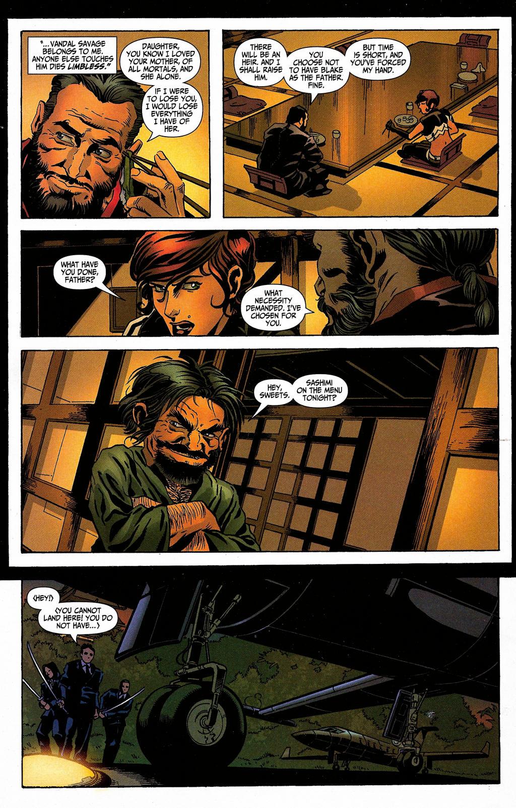 Read online Secret Six (2006) comic -  Issue #5 - 29