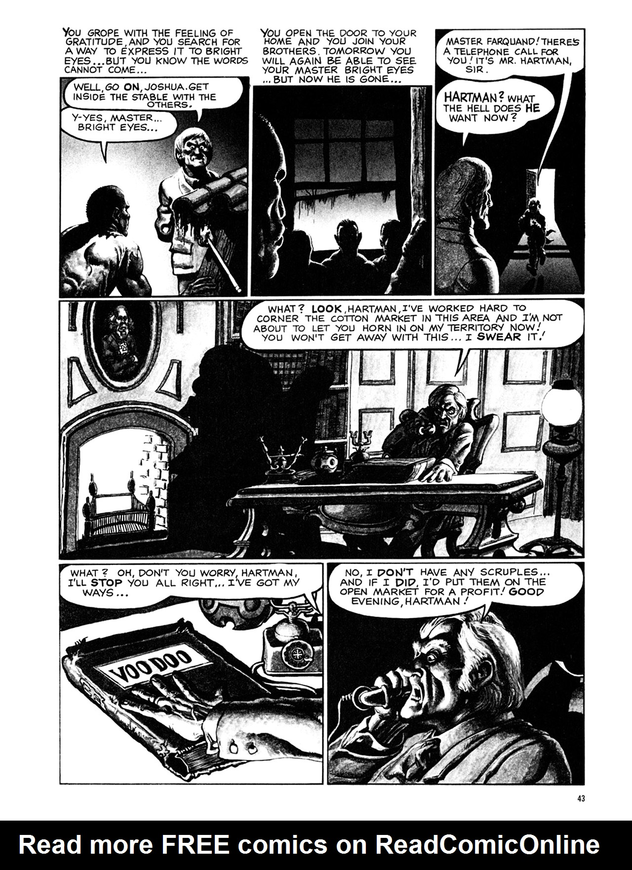 Read online Eerie Archives comic -  Issue # TPB 9 - 44