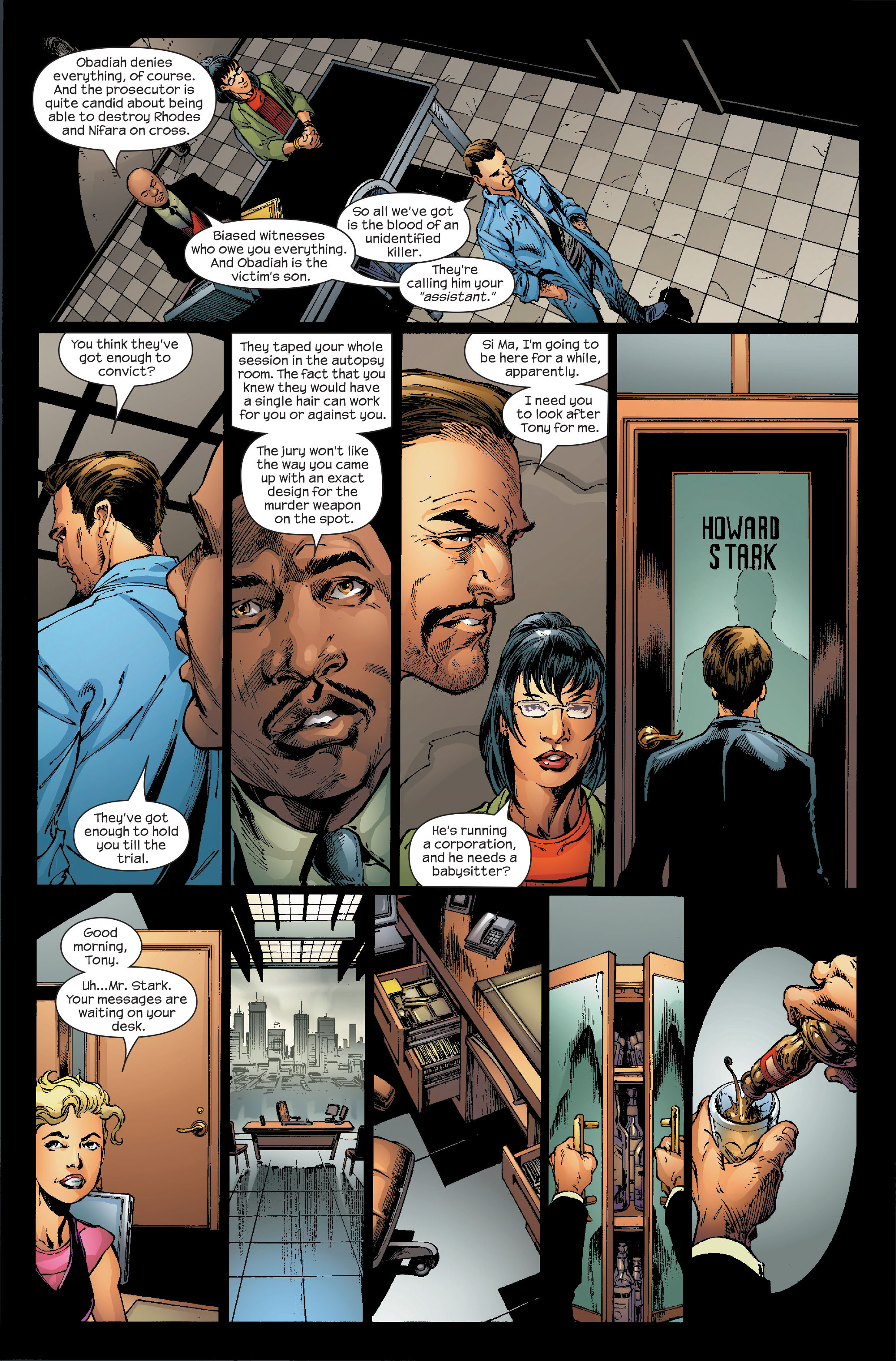 Read online Ultimate Iron Man (2005) comic -  Issue #5 - 15