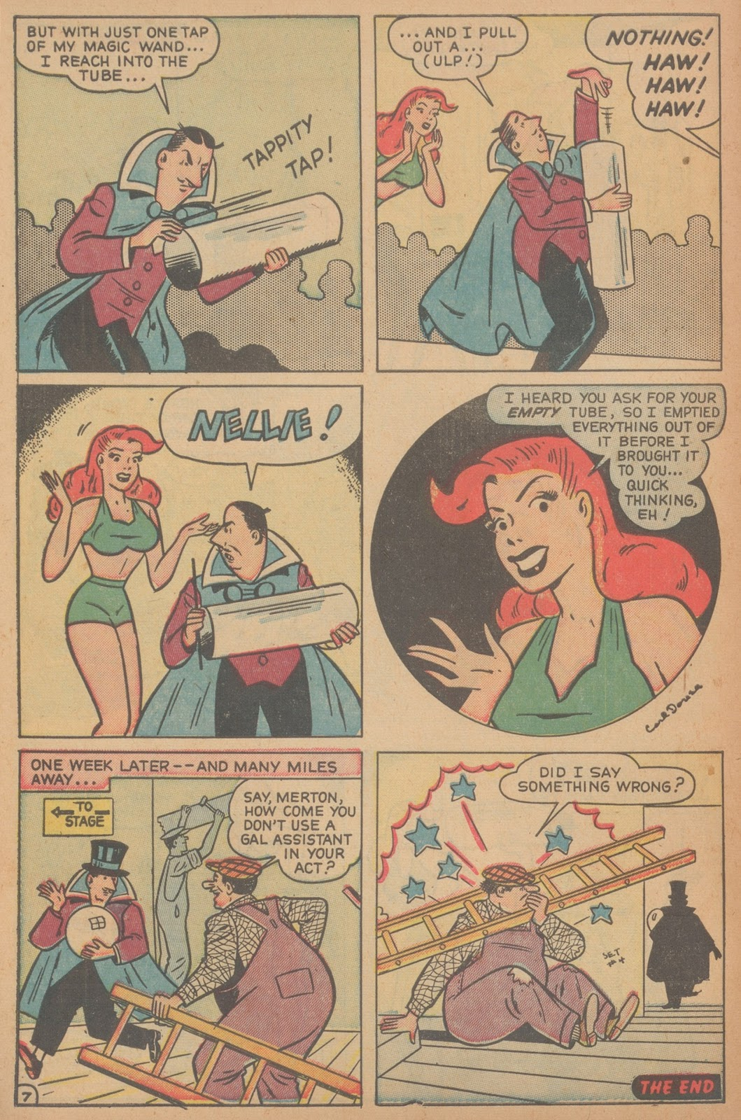 Read online Nellie The Nurse (1945) comic -  Issue #21 - 48