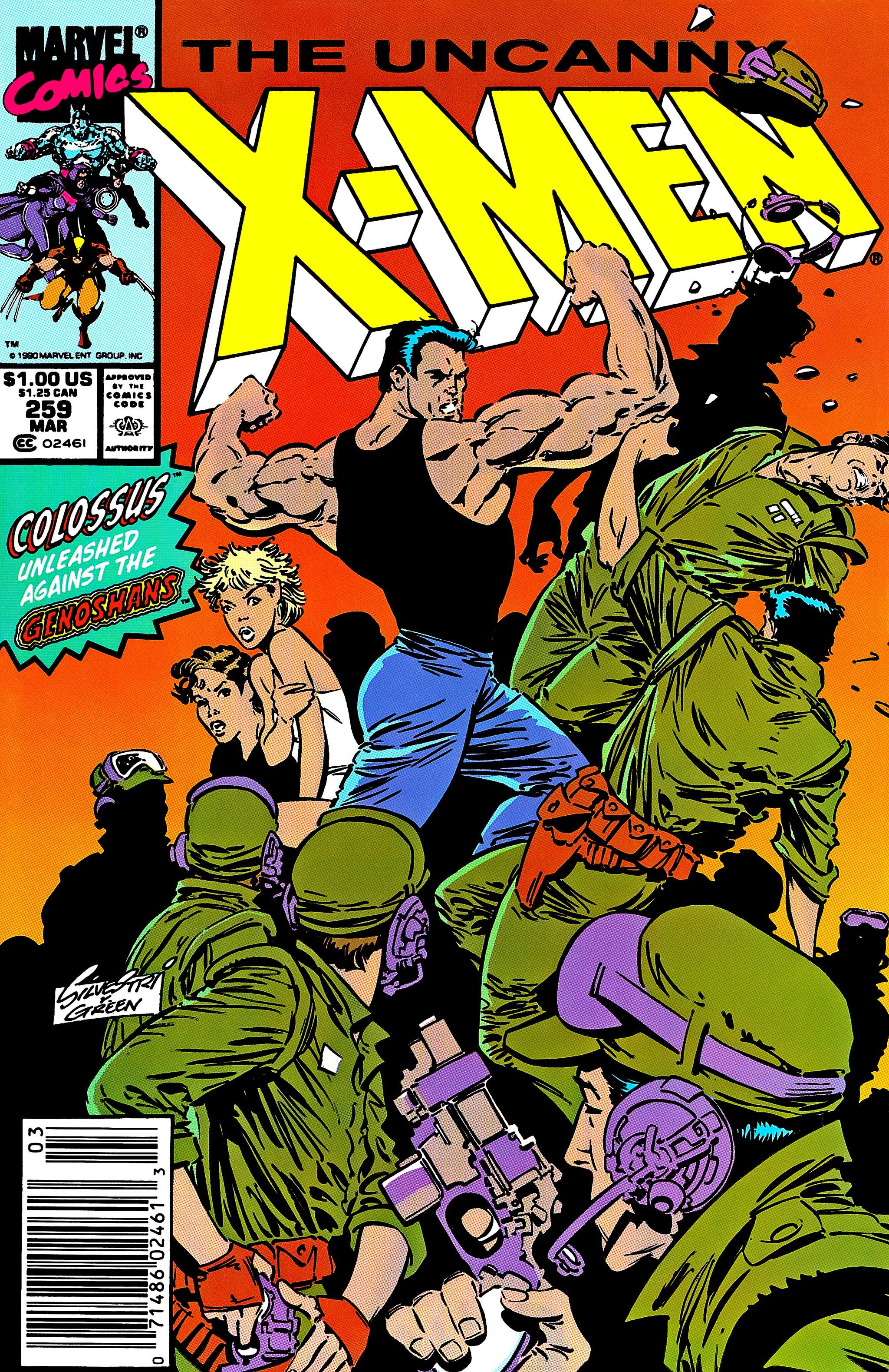Read online Uncanny X-Men (1963) comic -  Issue #259 - 1