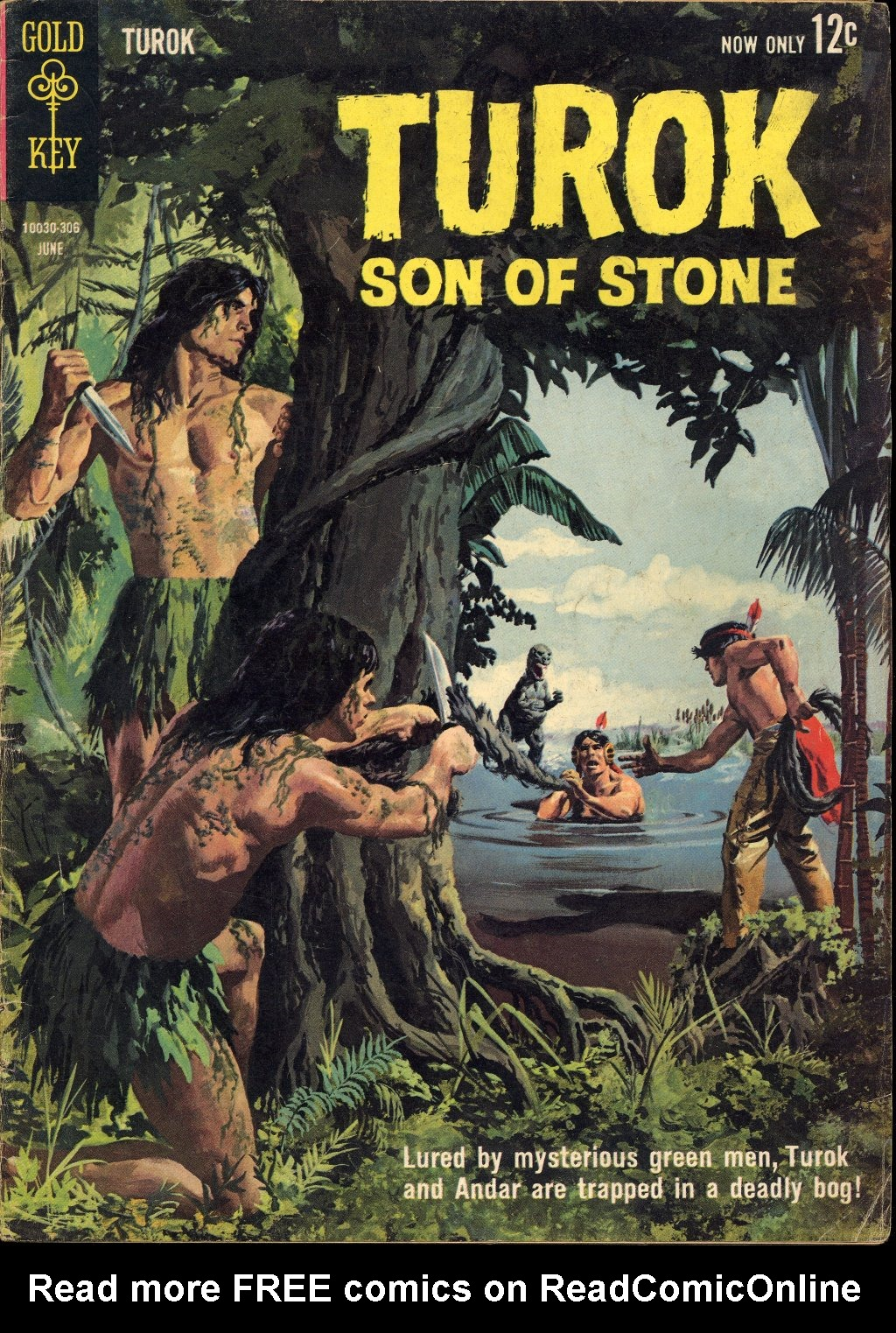 Read online Turok, Son of Stone comic -  Issue #33 - 1