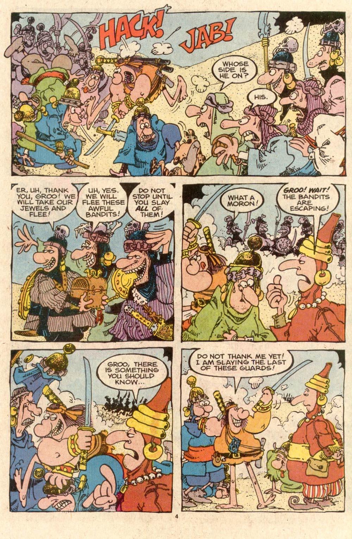 Read online Sergio Aragonés Groo the Wanderer comic -  Issue #44 - 4