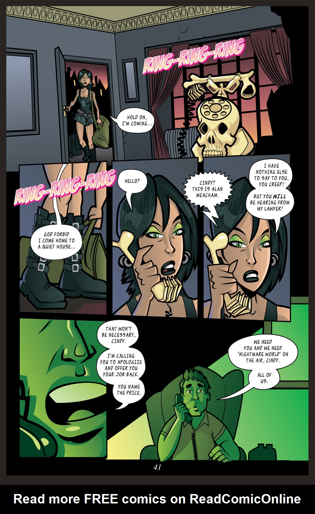 Read online Nightmare World comic -  Issue # Vol. 2 Leave the Light On - 42