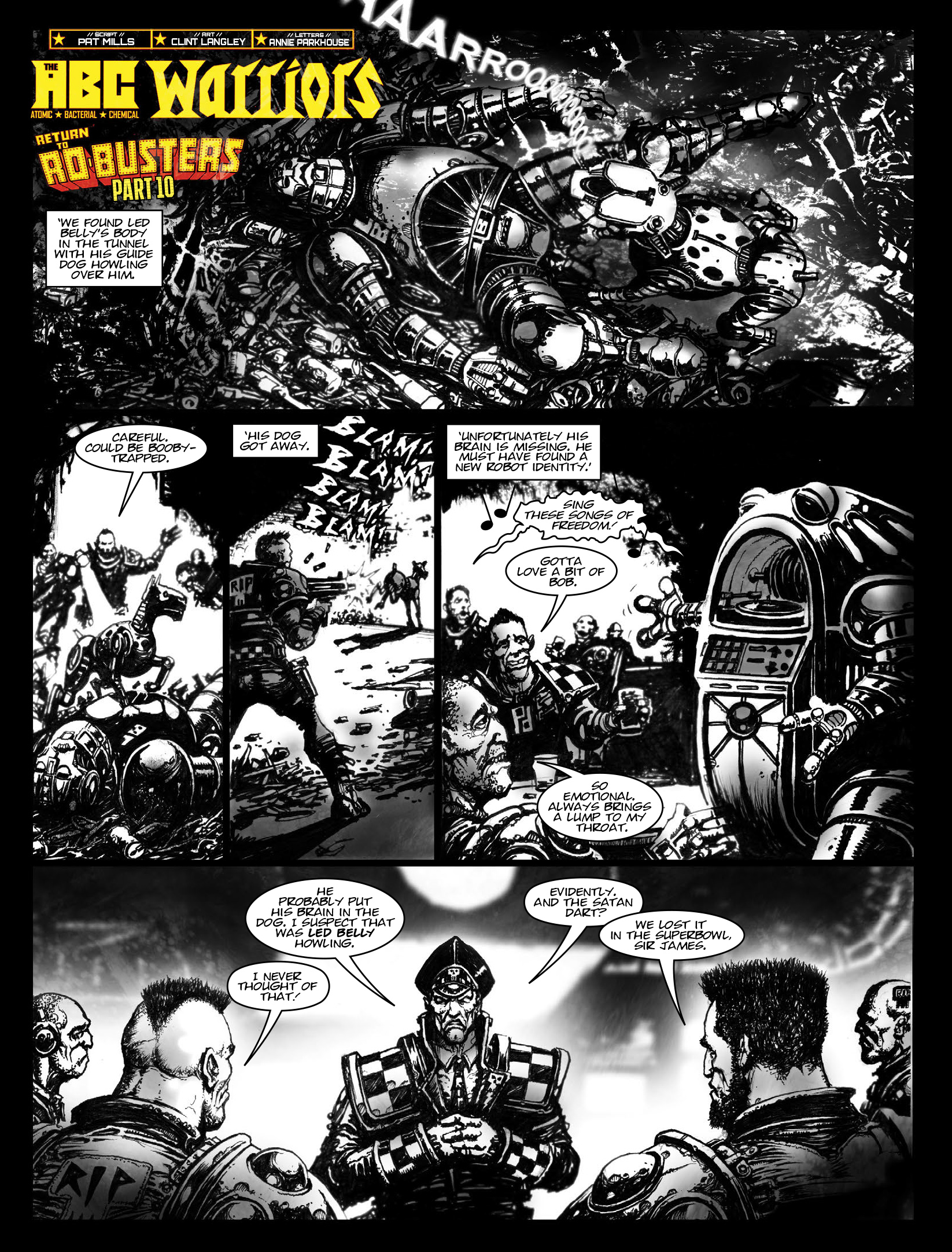 Read online 2000 AD comic -  Issue #1970 - 14
