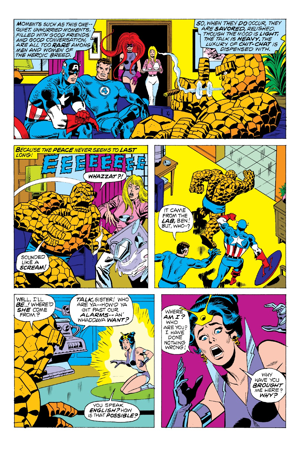 Read online Marvel Two-In-One Epic Collection: Cry Monster comic -  Issue # TPB (Part 2) - 14