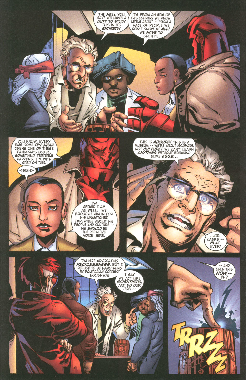 Read online Painkiller Jane/Hellboy comic -  Issue # Full - 8