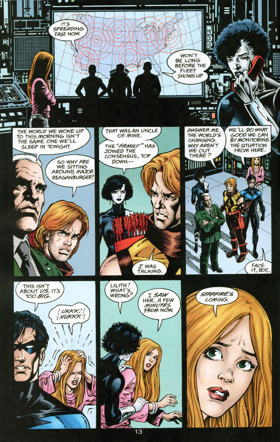 Read online The Titans (1999) comic -  Issue #49 - 14