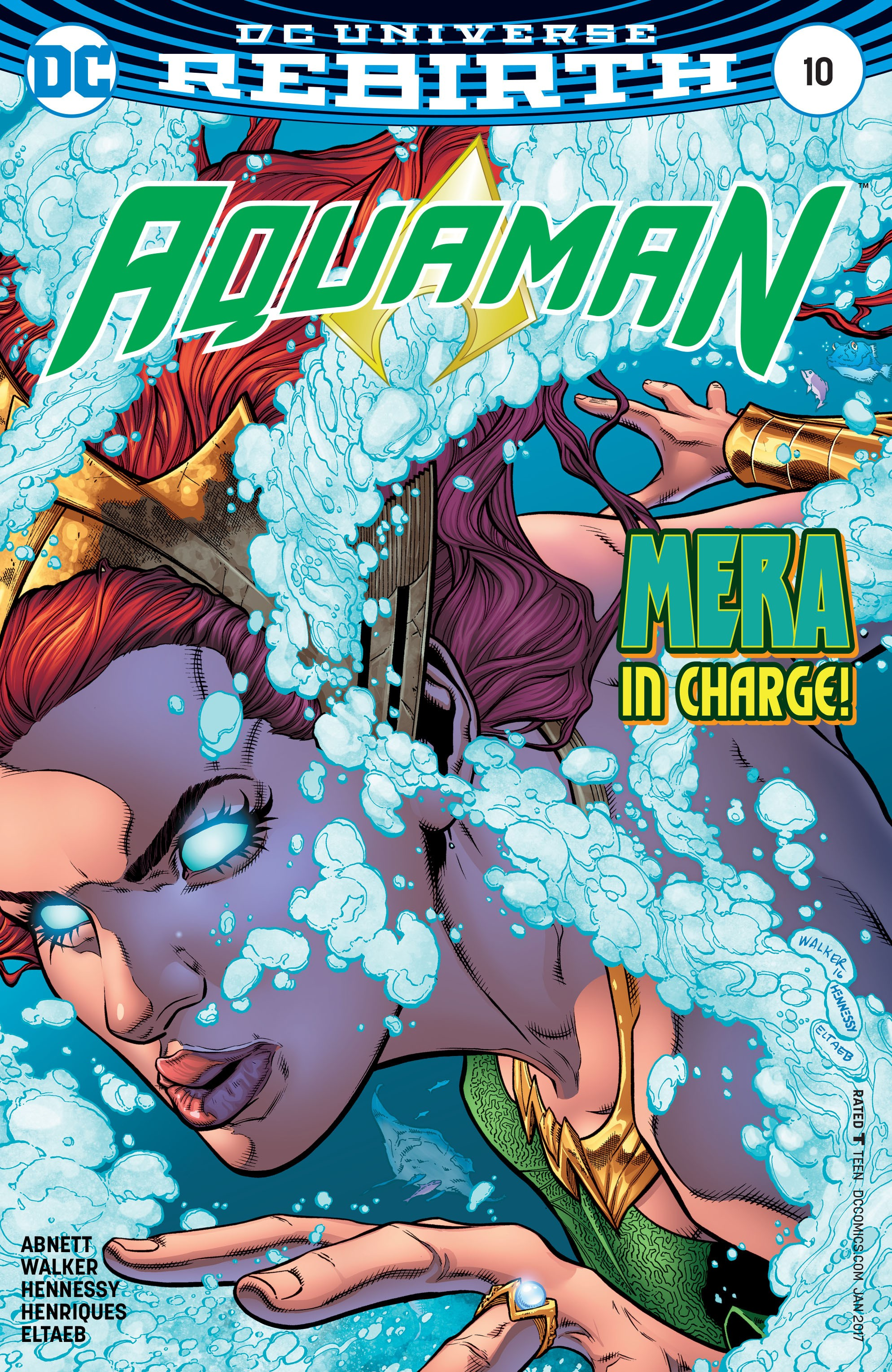 Read online Aquaman (2016) comic -  Issue #10 - 1